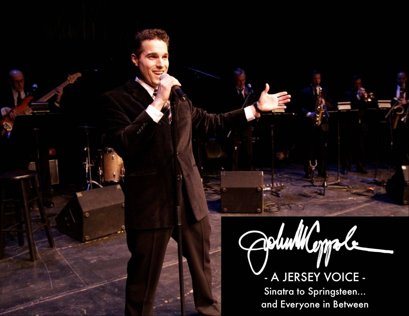 "Former ""Jersey Boys"" cast member John Michael Coppola performs at the 24th Annual Onesti Festa Pasta Vino Festival."