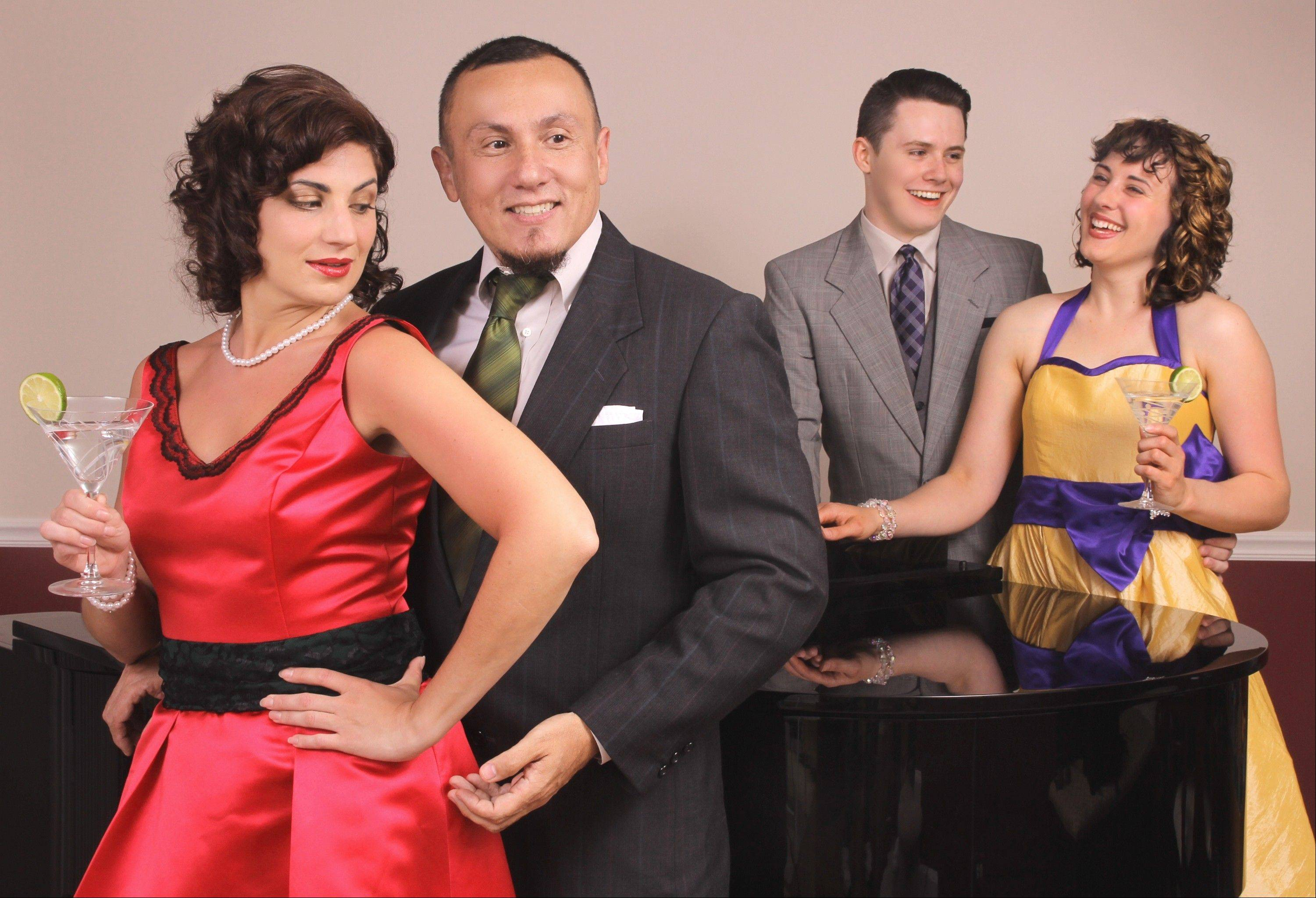 """My Way: A Musical Tribute to Frank Sinatra"" plays North Central College's Meiley-Swallow Hall in Naperville."