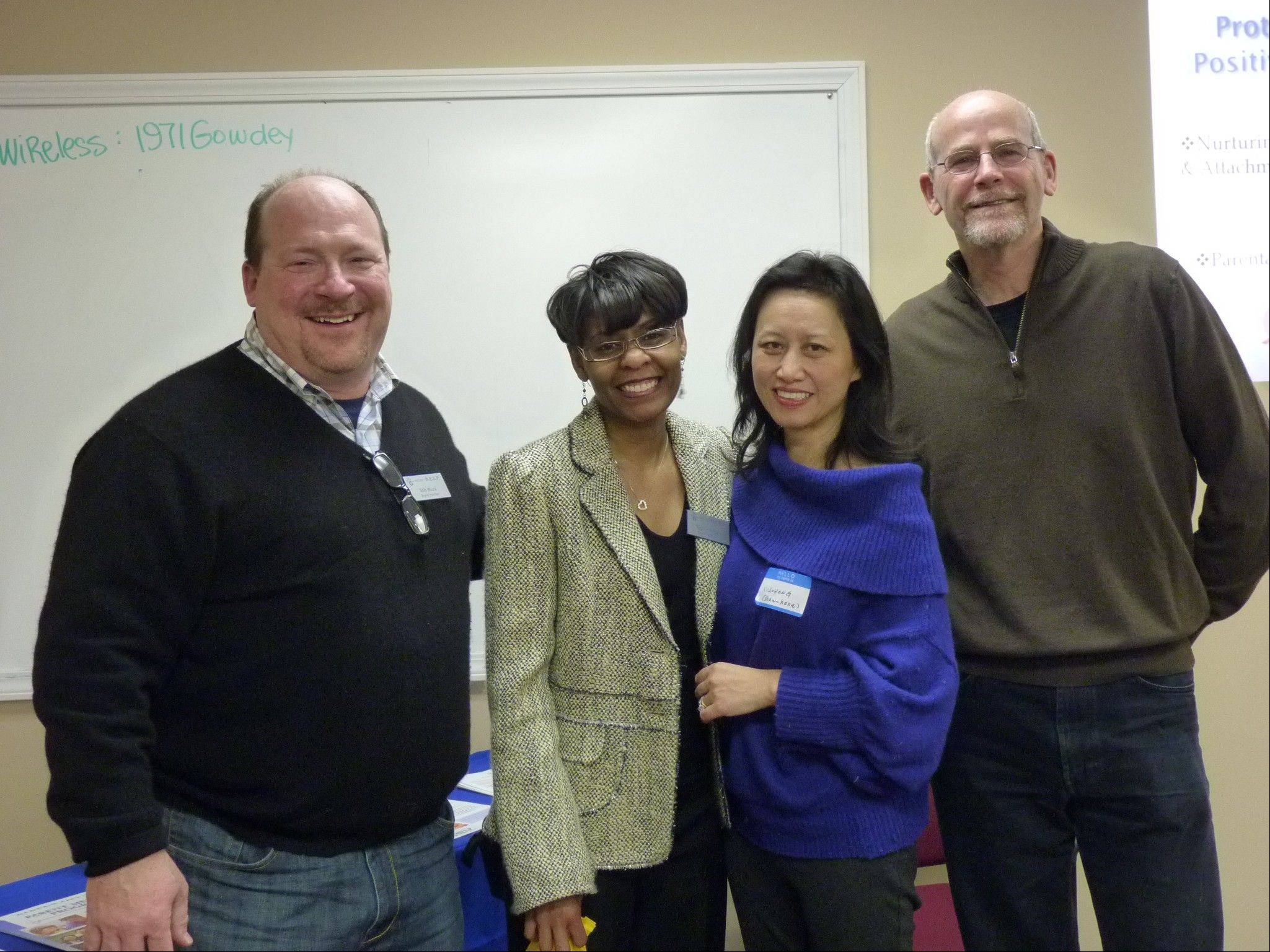 Because Project HELP is a nonprofit, volunteers like those with Executive Director Regina Rogers (second from right) are essential to the program's success.