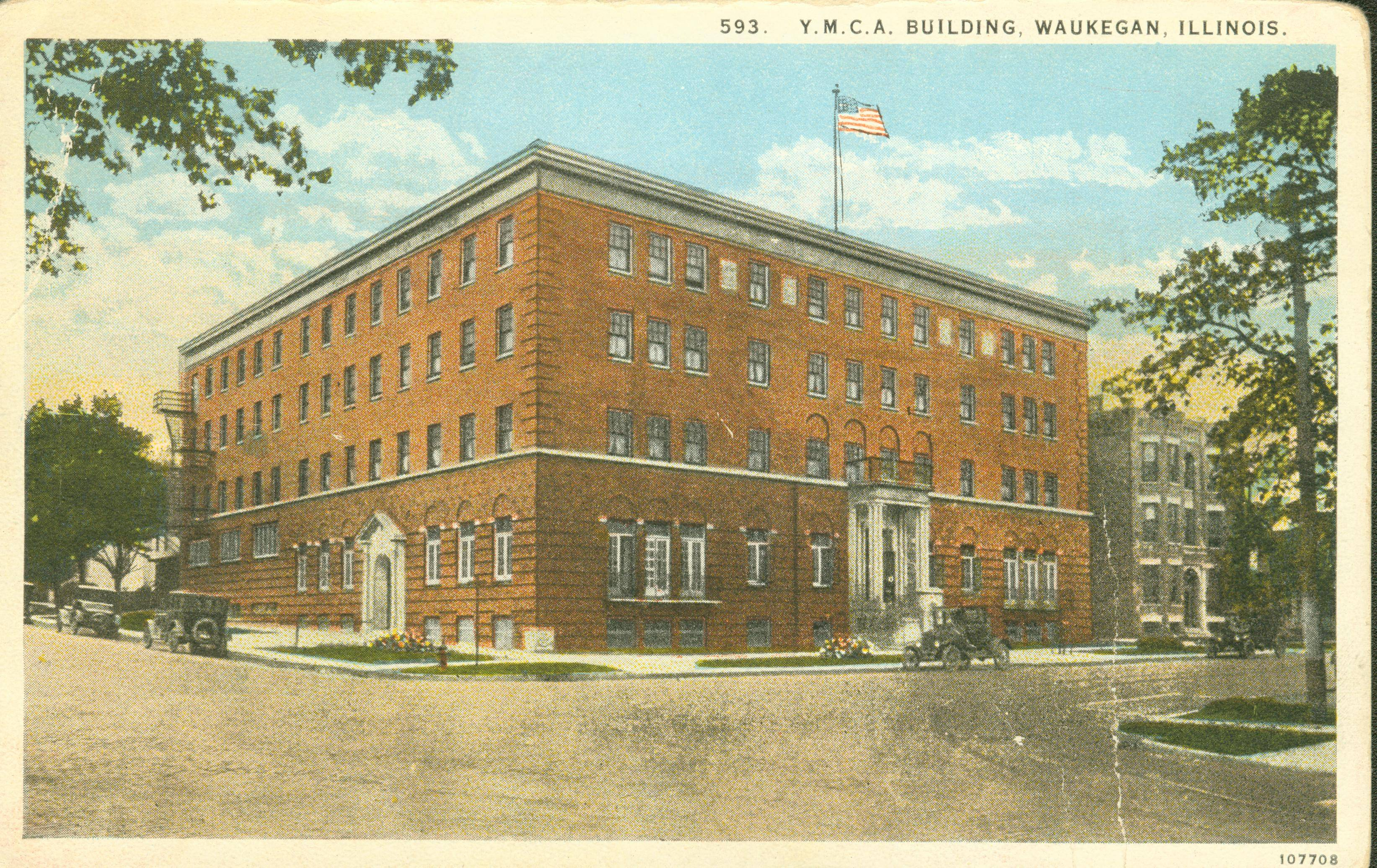 The YMCA building at County and Clayton streets in downtown Waukegan opened in 1925 and served as a residential and/or recreational center for more than 60 years. The residential dorms were closed in 1979 and the Y moved to its current Waukegan location in 1987.