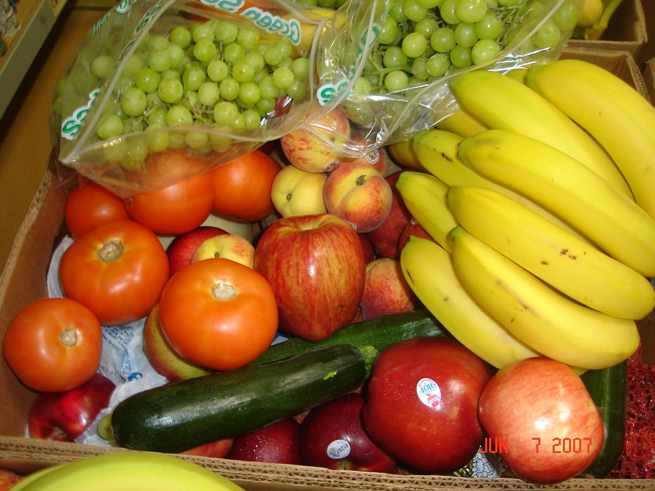 Fresh produce going to the needy families in HSP's Feed the Kids Project