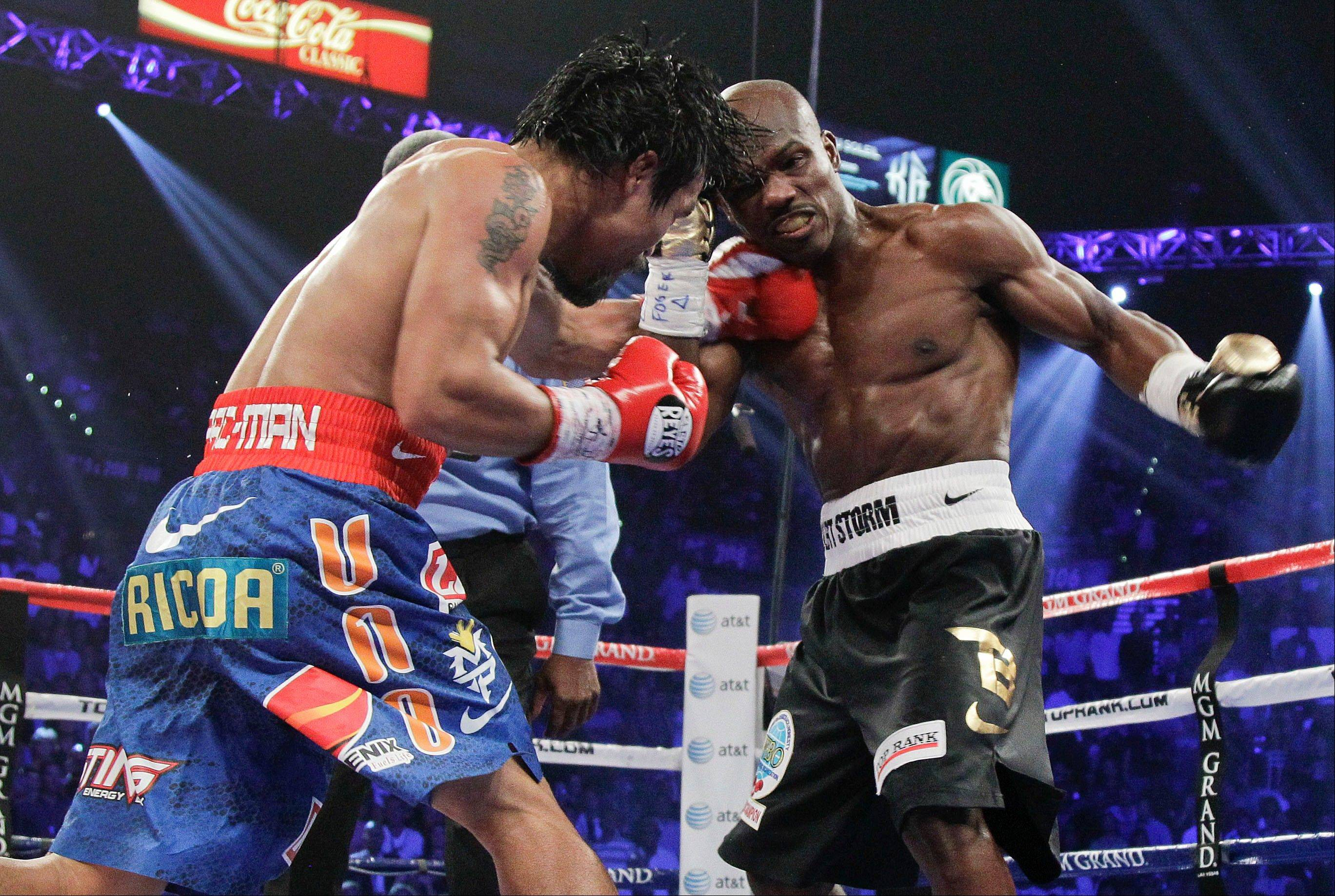 The WBO announced Wednesday that it will review Timothy Bradley's controversial split-decision win over Manny Pacquiao, left, in their WBO world welterweight title fight.