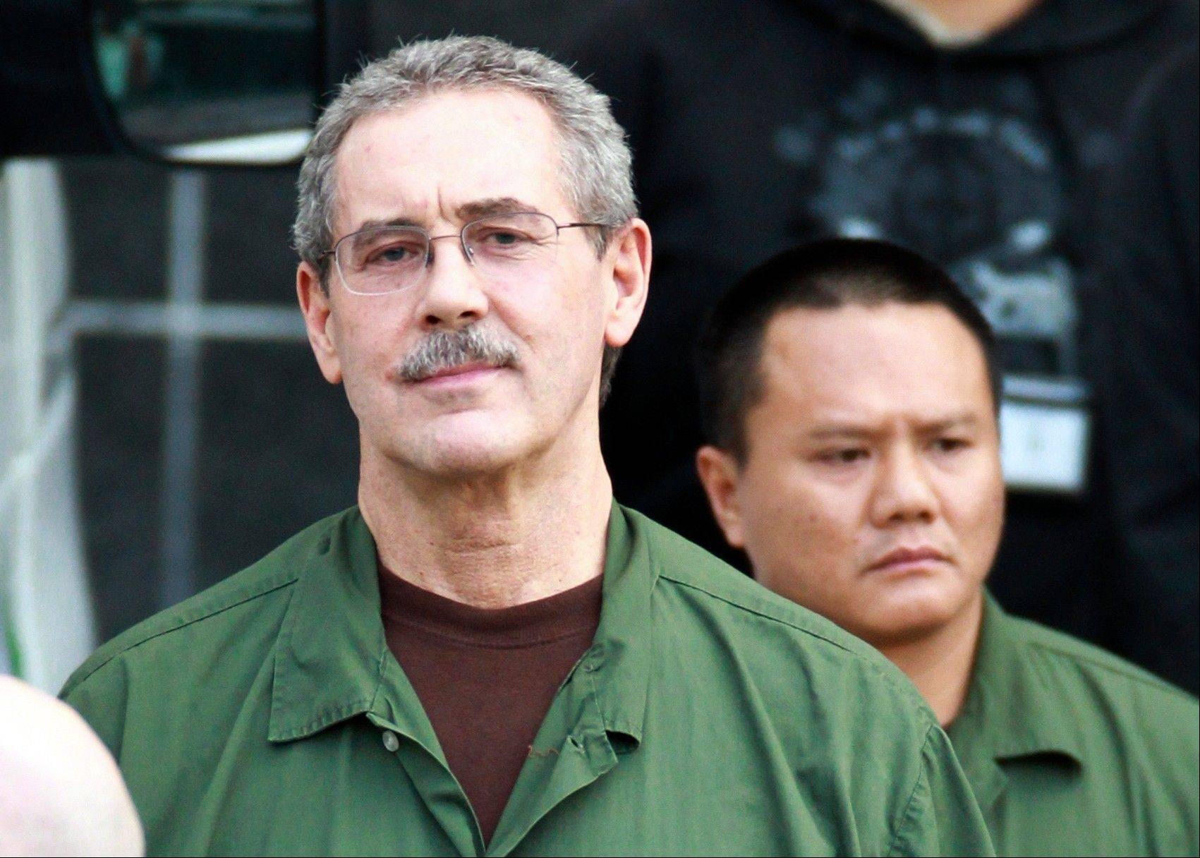 R. Allen Stanford leaves the Bob Casey Federal Courthouse in Houston on March 6. Stanford, once considered one of the wealthiest people in the U.S., with a financial empire that spanned the Americas, was convicted on charges he bilked investors out of more than $7 billion.
