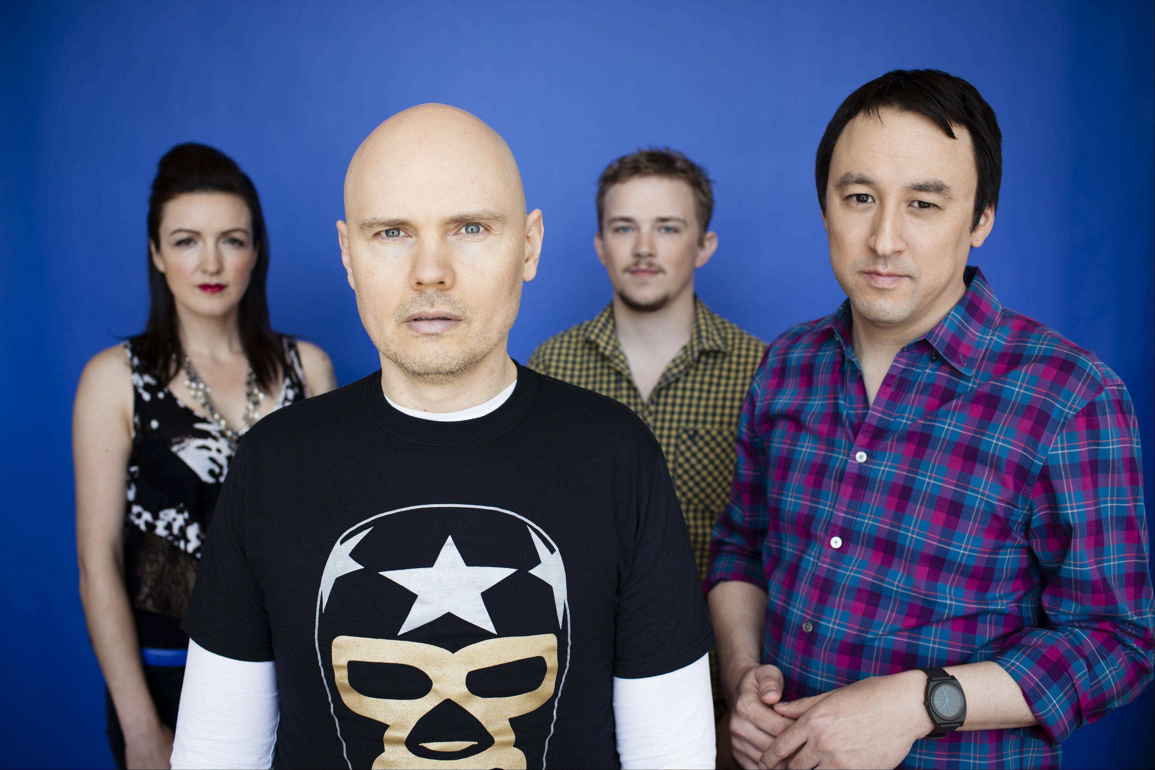 "The Smashing Pumpkins release their ninth studio album, ""Oceania,"" Tuesday."