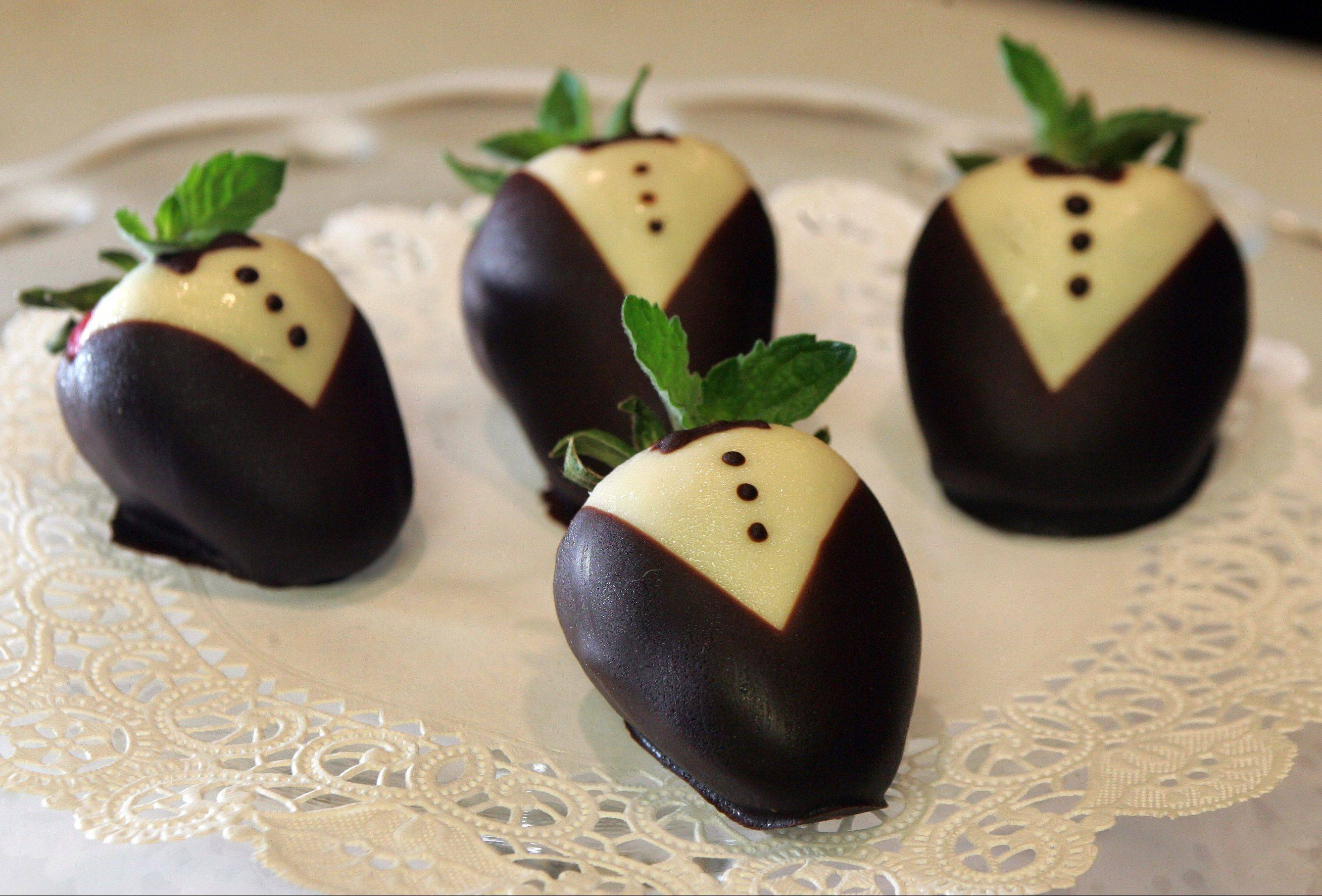 Tuxedo strawberries are an elegant, fresh-fruit treat for summer entertaining. They look fussy, yet once you melt the chocolate they are easy to make.