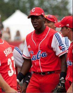 Jorge Soler of Cuba from 2010 World Junior Baseball Championships.