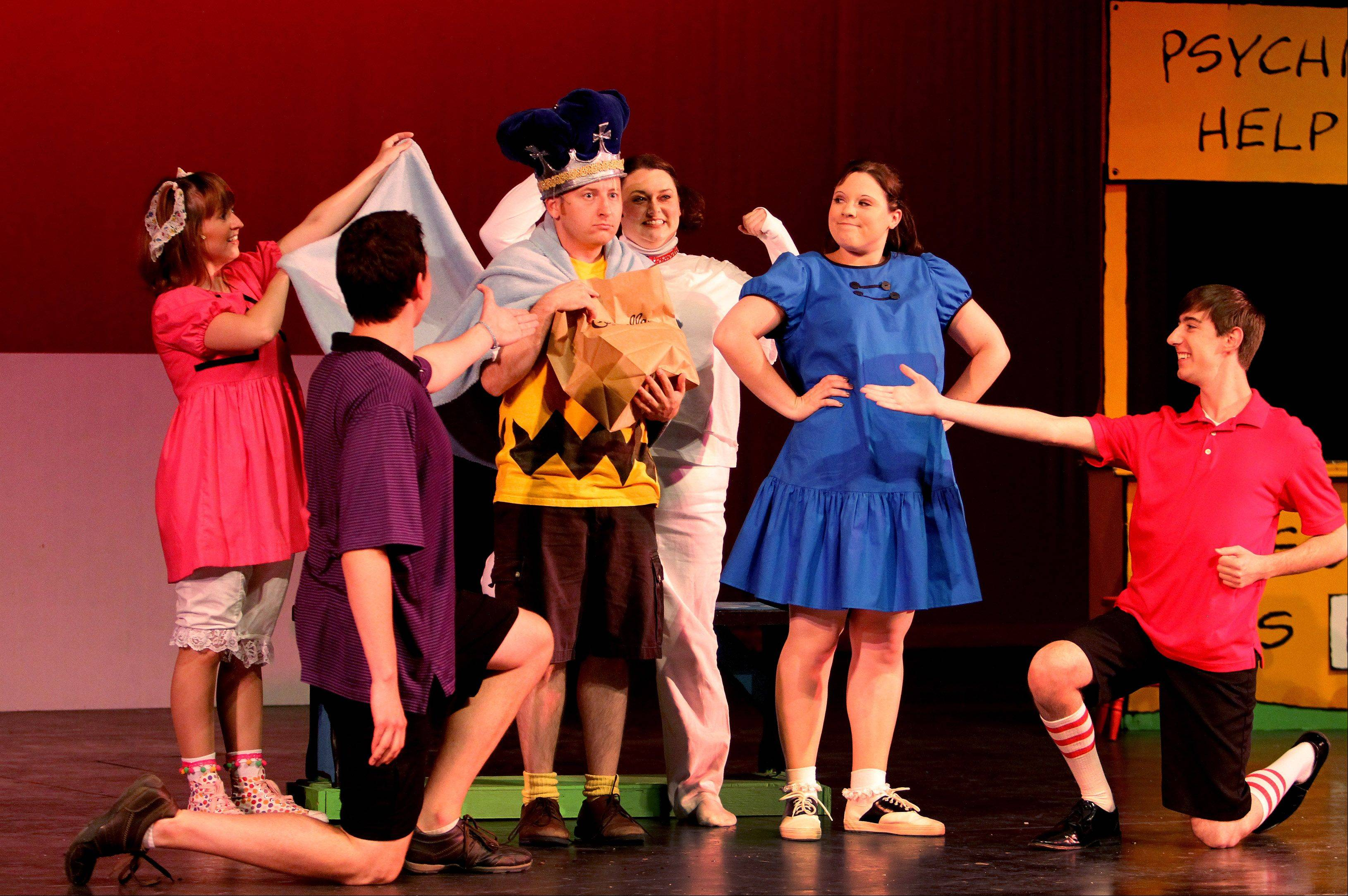 "Summer Place Theatre will perform ""You're a Good Man, Charlie Brown"" June 15-24 at Naperville Central High School. Shows are at 8 p.m. Fridays and Saturdays and 3 p.m. Sundays."