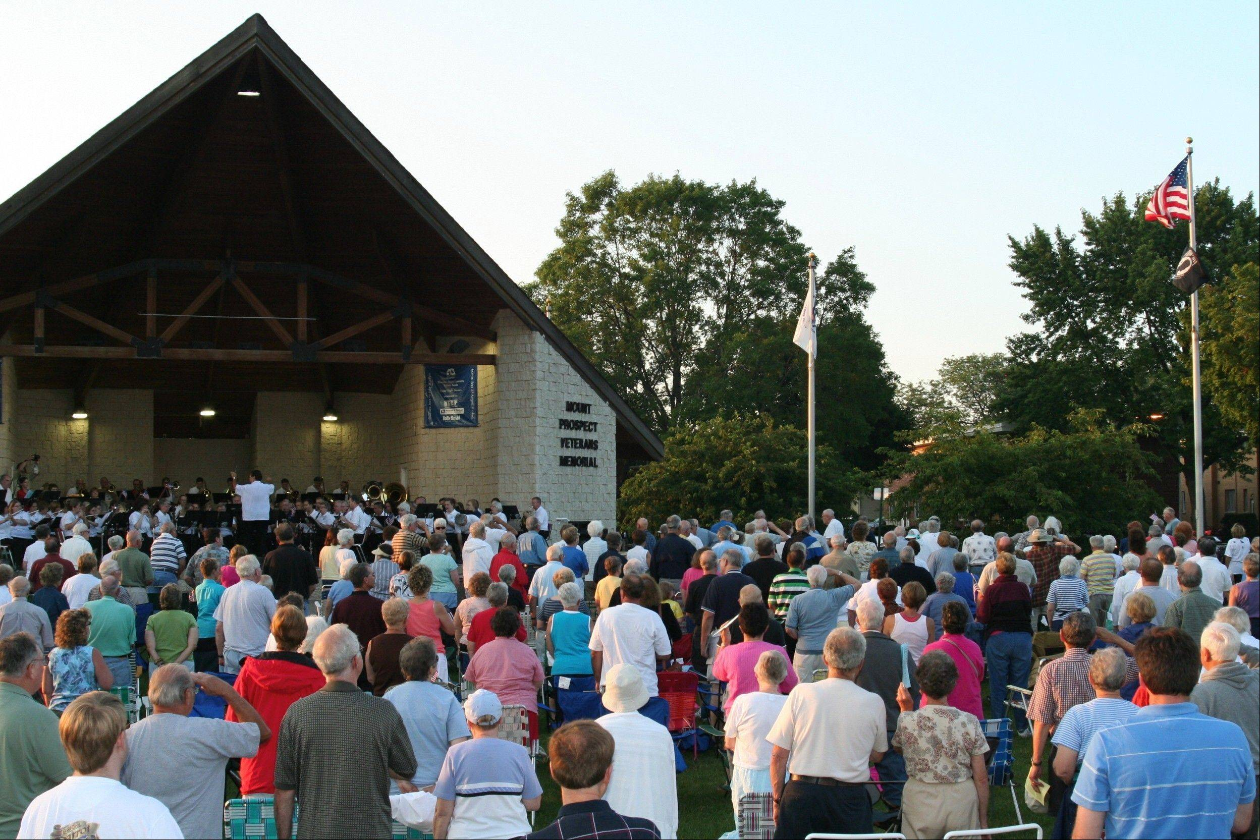 DAILY HERALD FILE PHOTOThe band draws a big crowd all summer long.
