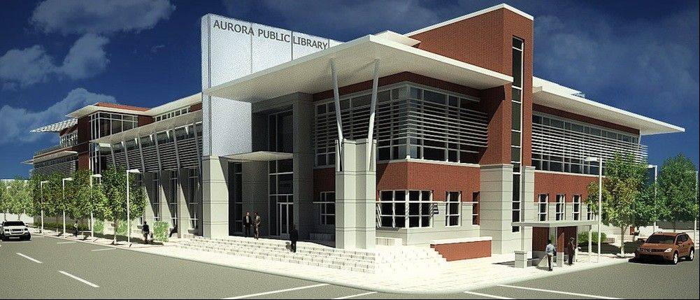 Aurora library plans technology, space for new building