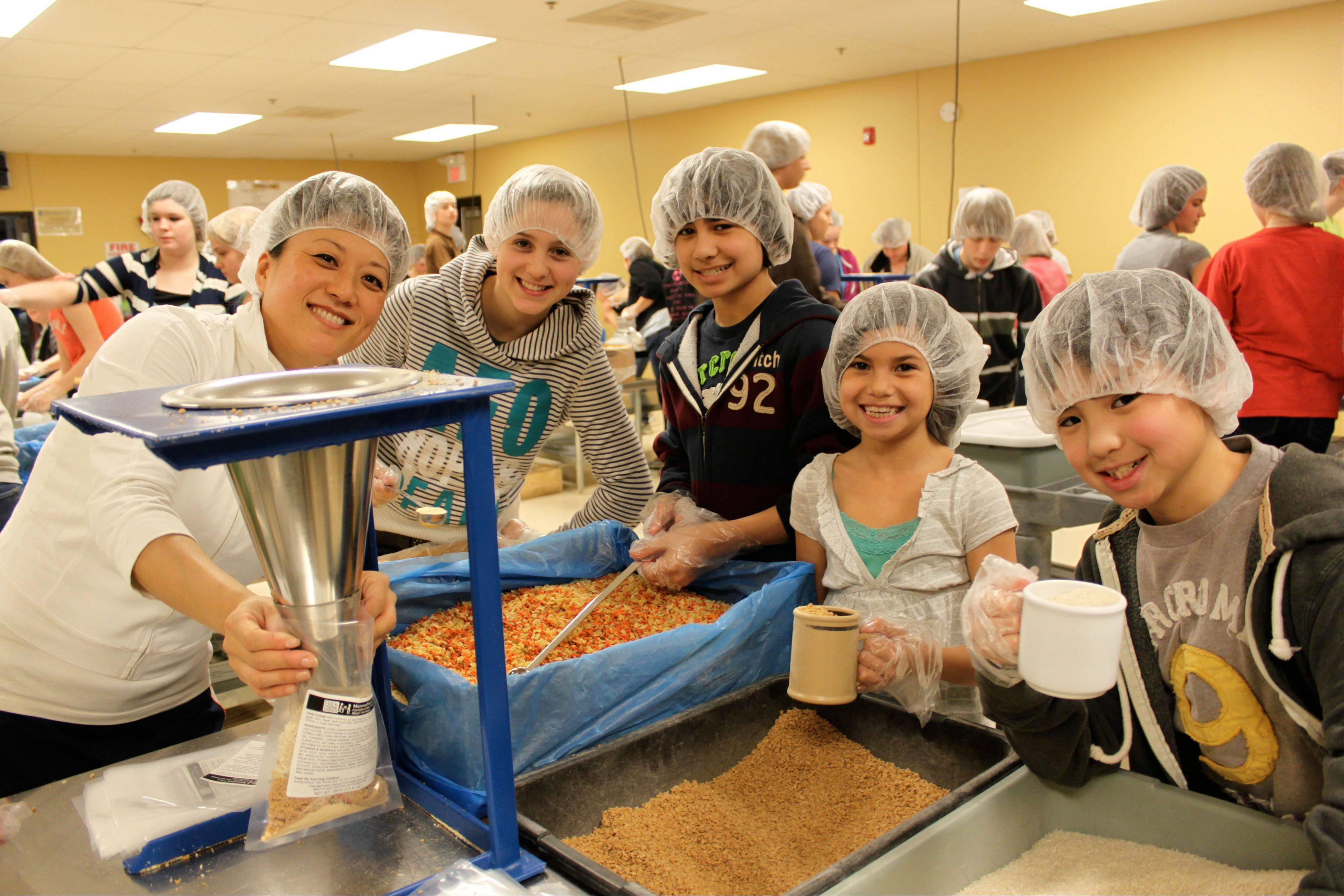 Families can sign up for two-hour sessions at Feed My Starving Children.