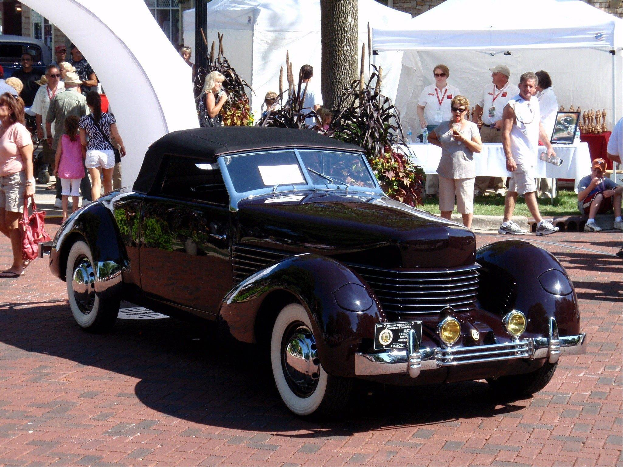 Russ Rodriguez will showcase his 1937 Cord Cabriolet at the Father's Day Classic Car Show at Oakbrook Center. The car, he says, was meant to be driven.