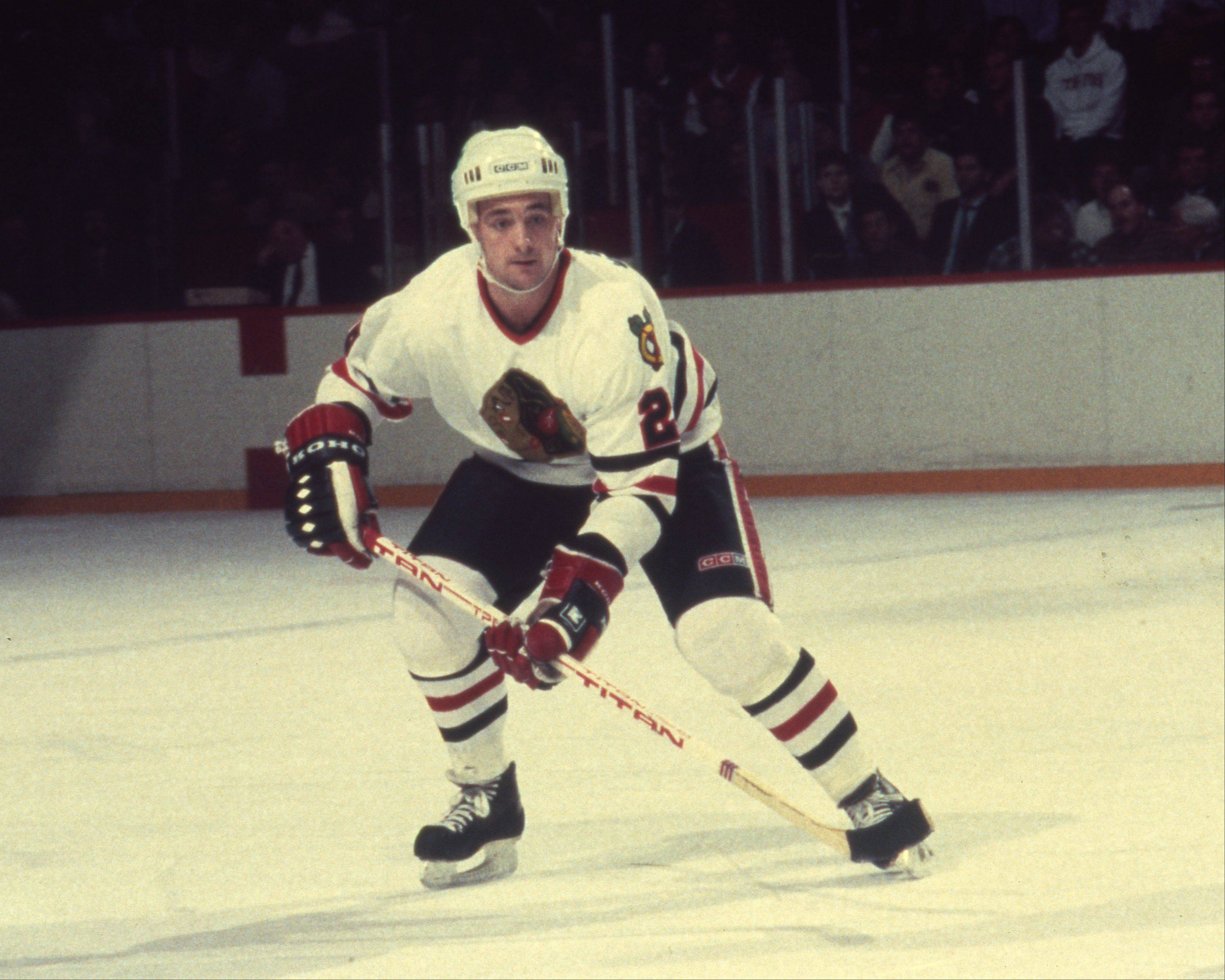 "Steve Ludzik, who played with the Blackhawks from 1981-89, says the constant hits he took to the head was like ""being in a bumper car for years without stopping."""