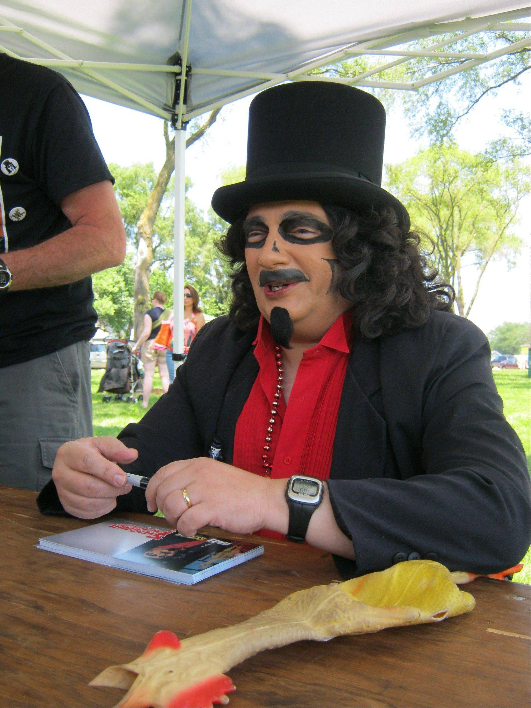Svengoolie will make a return appearance to the District 59 foundation benefit.