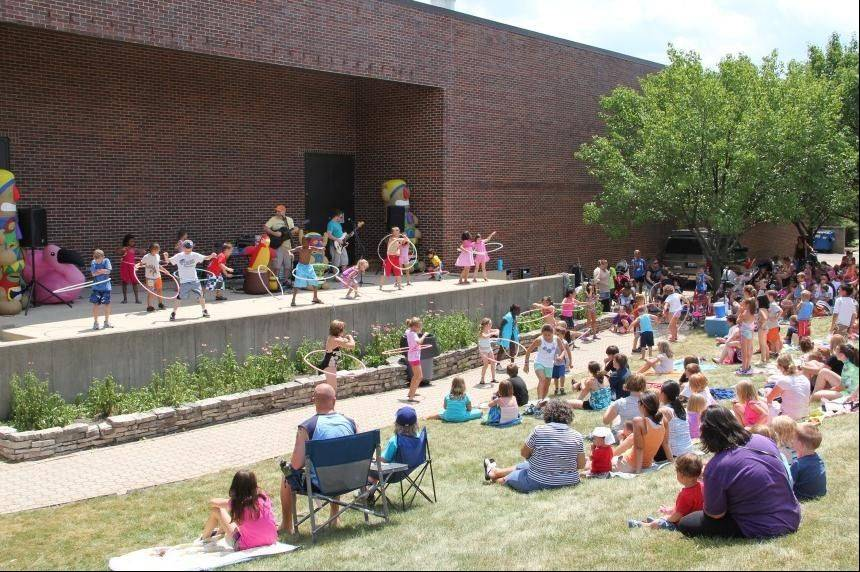 Pack a picnic blanket and lunch and join the Schaumburg Park District from noon-1 p.m. Wednesdays, through July 25, for Noonie Times, a free summer entertainment series for children at the Community Recreation Center outdoor theater.