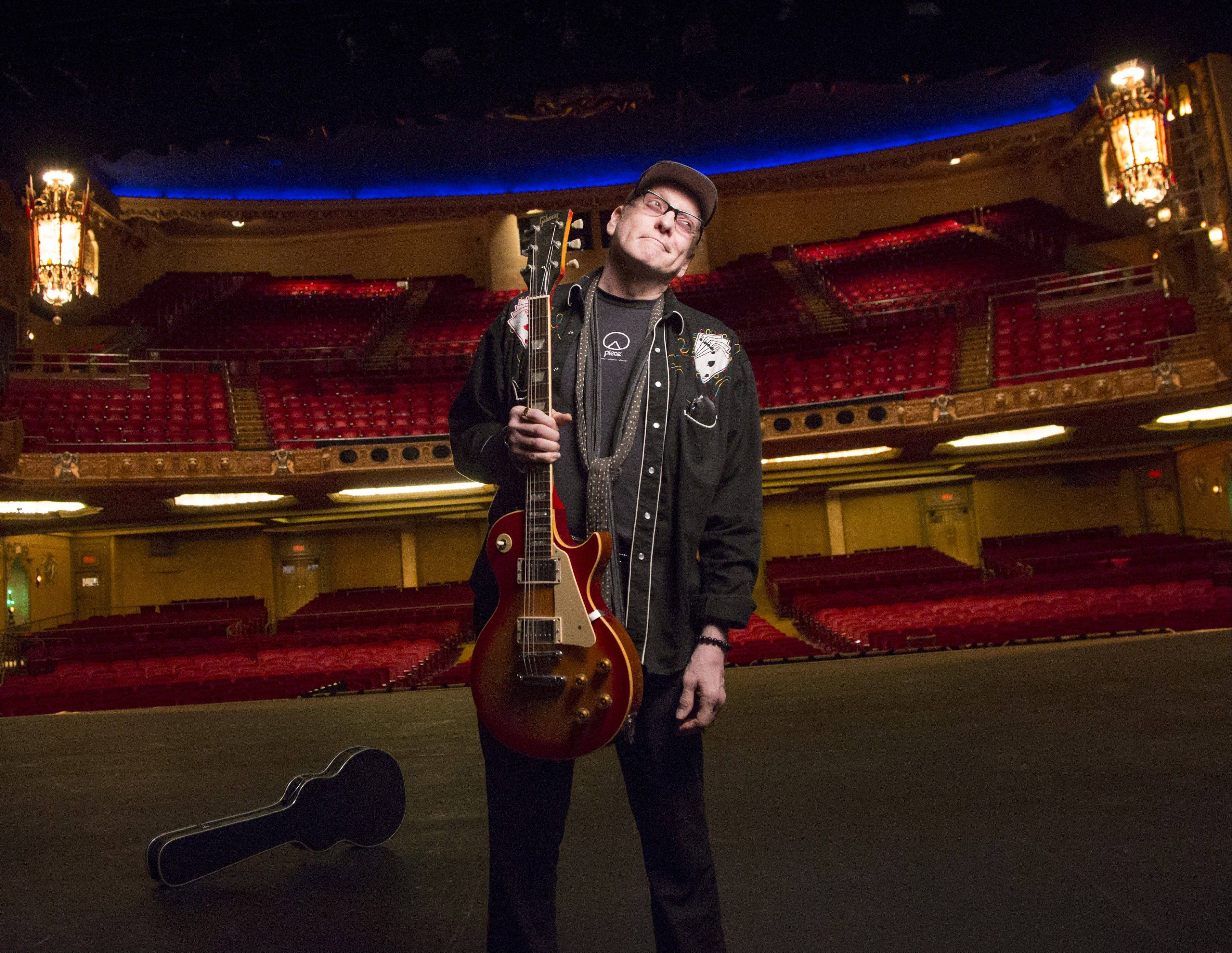 Rick Nielsen and his band, Cheap Trick, have performed numerous times at Rockford's Coronado Performing Arts Center.