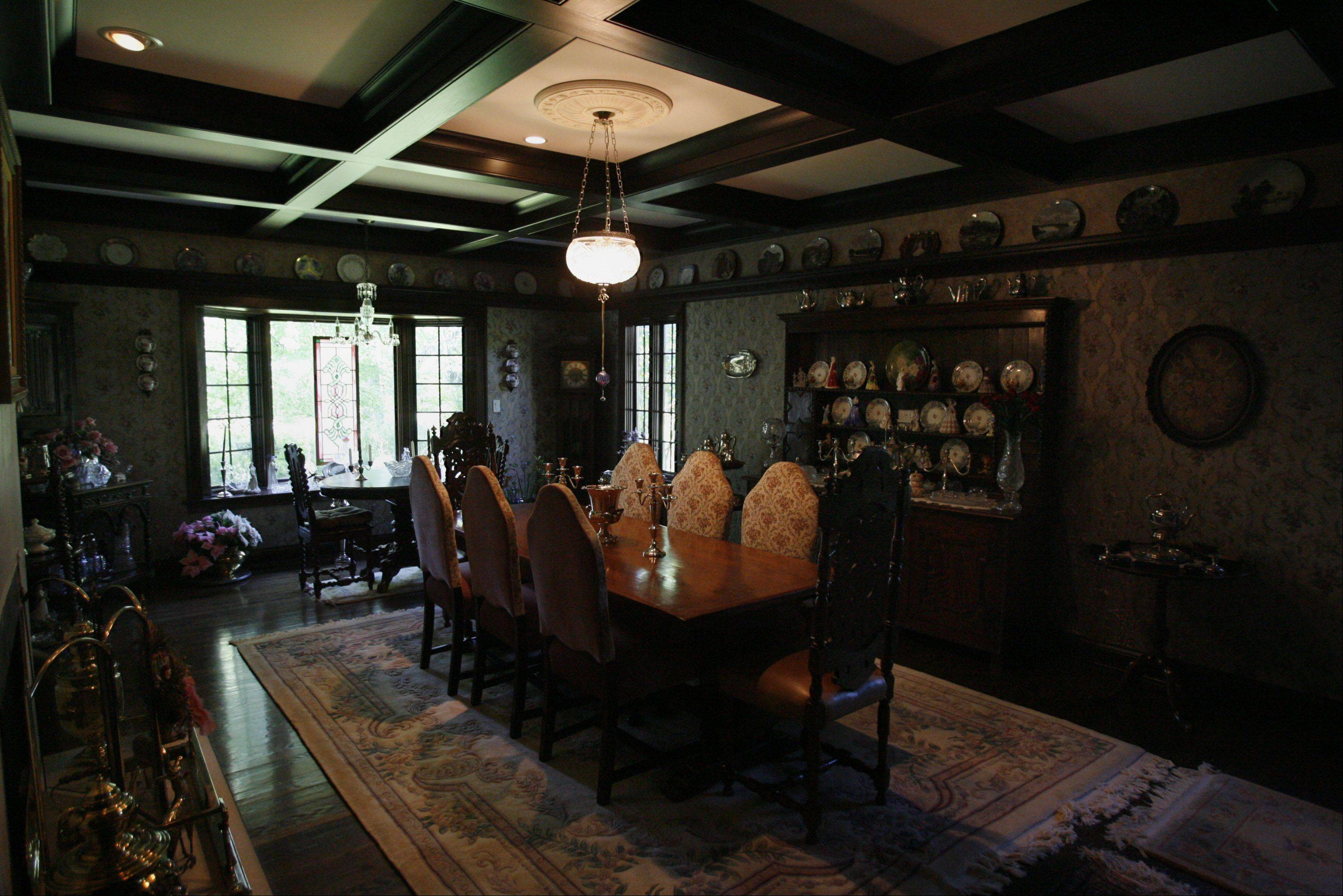Patricia Rockett wanted a big dining room in her Long Grove house because the one in her previous home had been a bit tight.