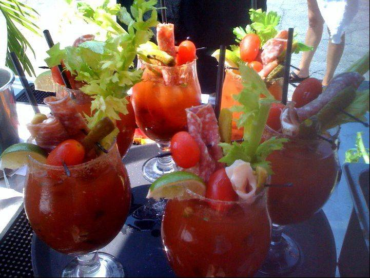Sample variations of the Bloody Mary at the Third Annual Bloody Mary Fest Sunday, June 24, in Highwood.