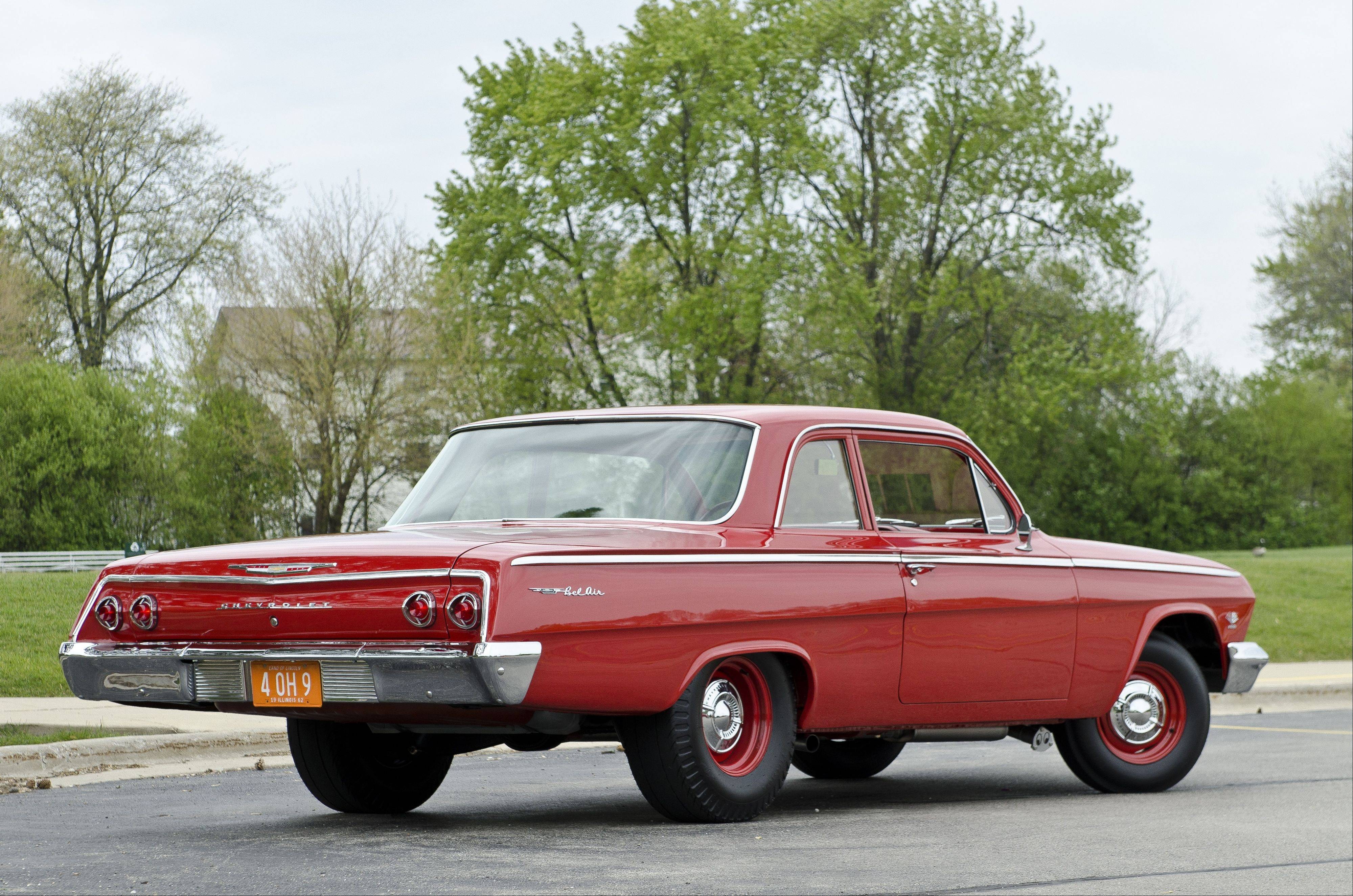 "Collopy's Bel Air in Roman Red could be affectionately called a ""Granny's Grocery Getter"" because of its simplistic look but deceptively fast setup."