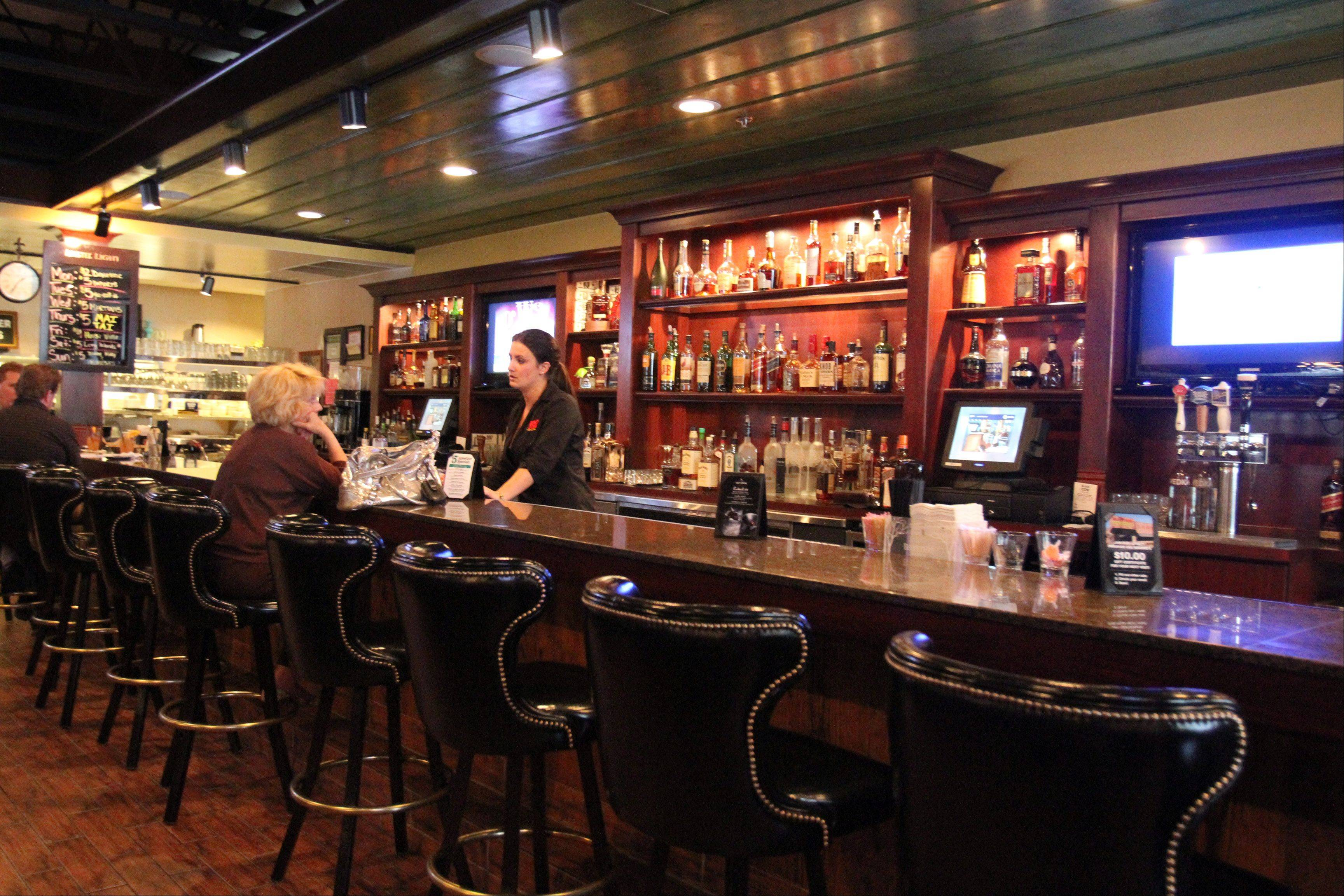 Black Cow Kitchen & Bar in Mount Prospect offers a selection of specialty cocktails.
