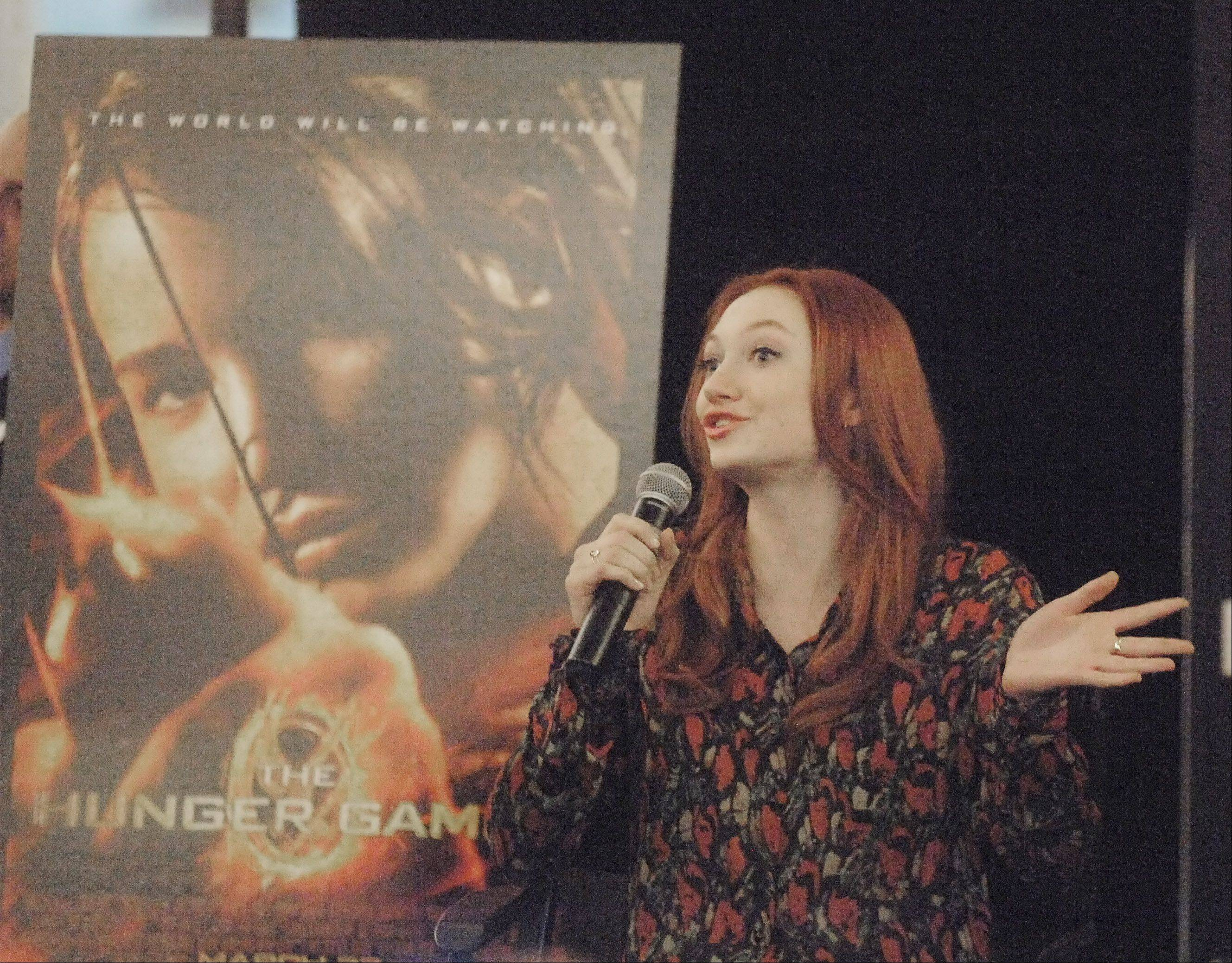 """The Hunger Games"" actor Jacqueline Emerson will appear at the Fiction2Film convention at the Westin O'Hare Hotel in Rosemont."