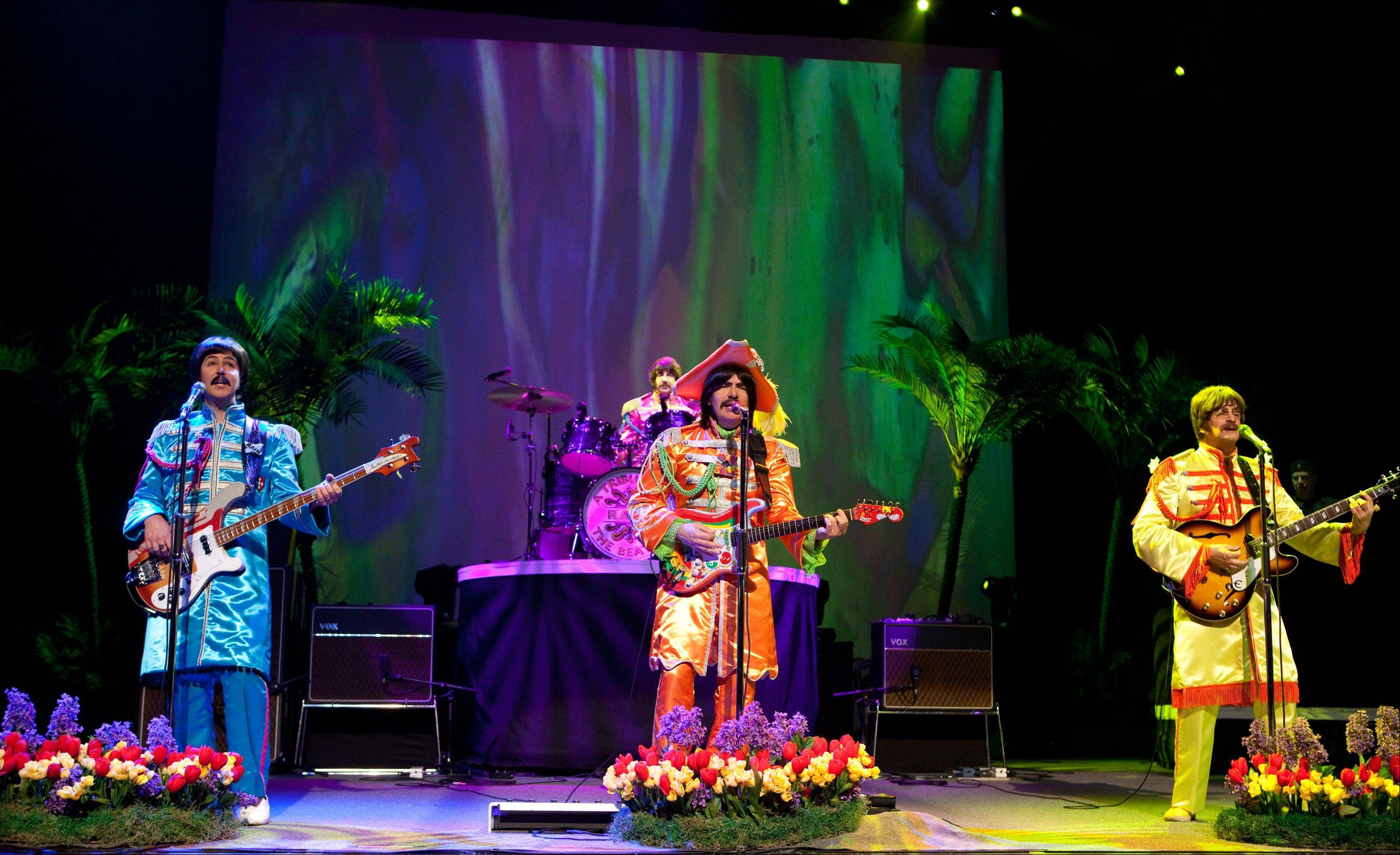"""RAIN: A Tribute to the Beatles"" returns to the Oriental Theatre in Chicago following a run on Broadway."