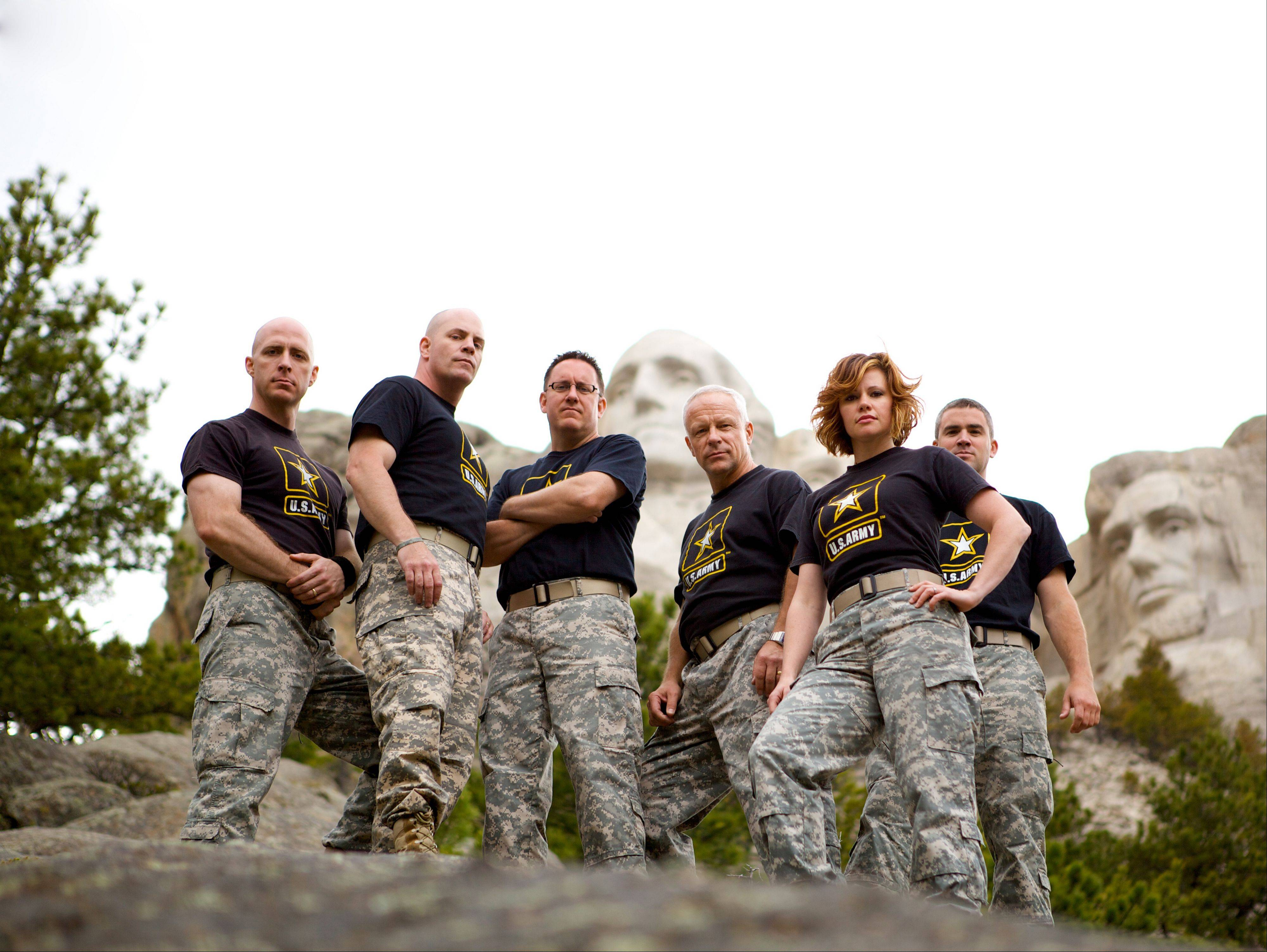 The U.S. Army Field Band's six-piece ensemble The Volunteers perform a free concert of rock and country music at the Arcada Theatre in St. Charles on Thursday, June 28.