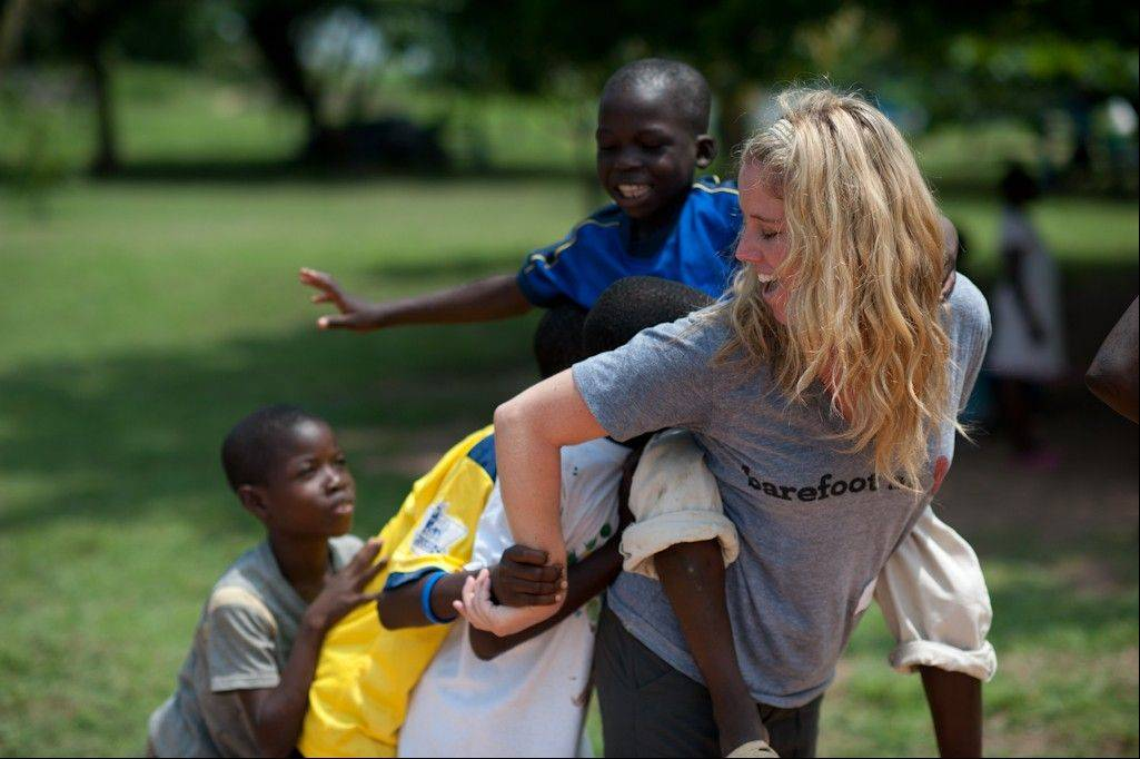 Wheaton native Rachel Johnson works to free children sold into the fishing industry in Ghana but says they teach her about joy and gratitude.