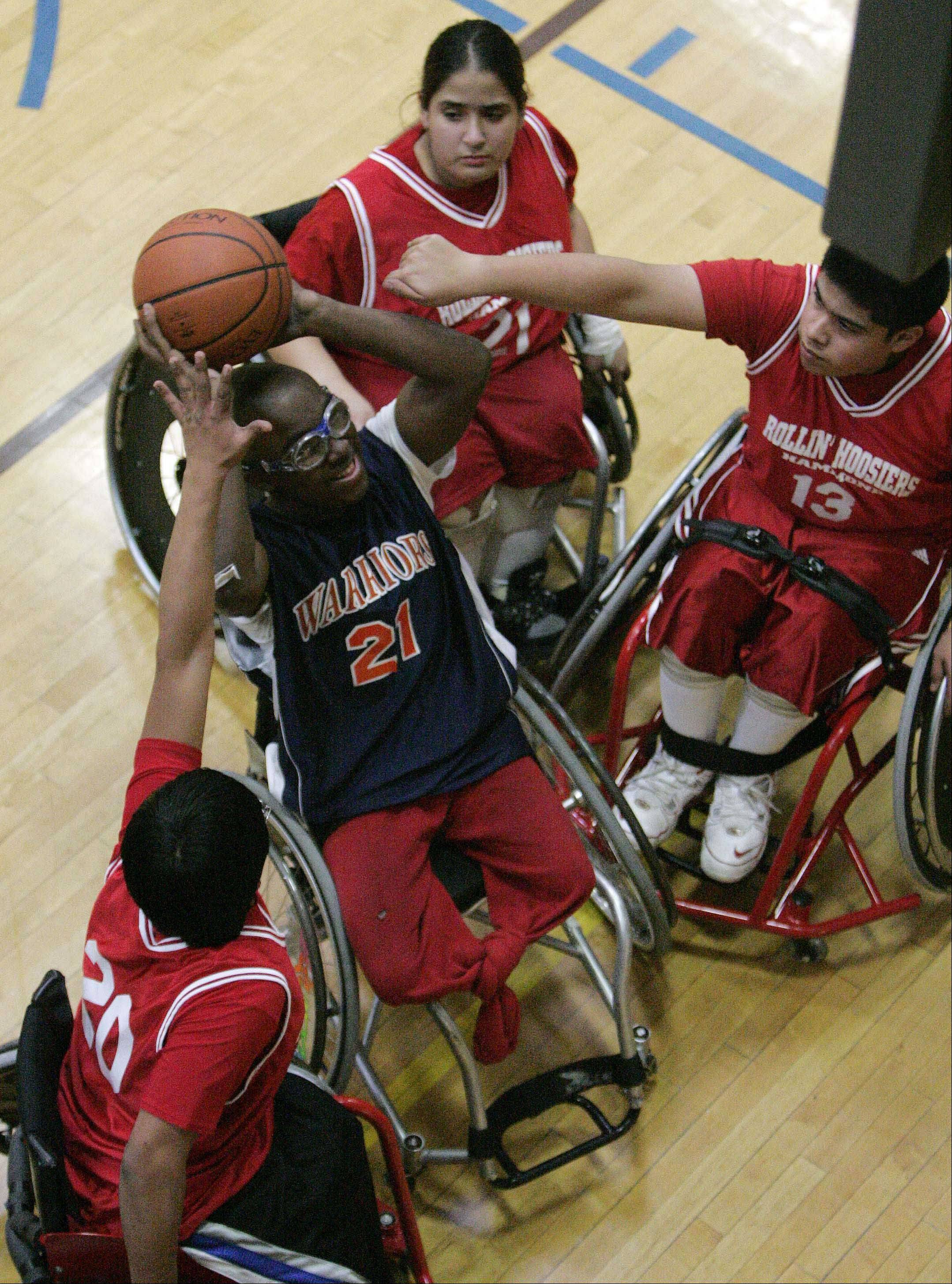 WDSRA programs like the Warriors wheelchair basketball team allow athletes with physical disabilities to compete, while other programs provide sports and leisure activities for children and adults with special needs.