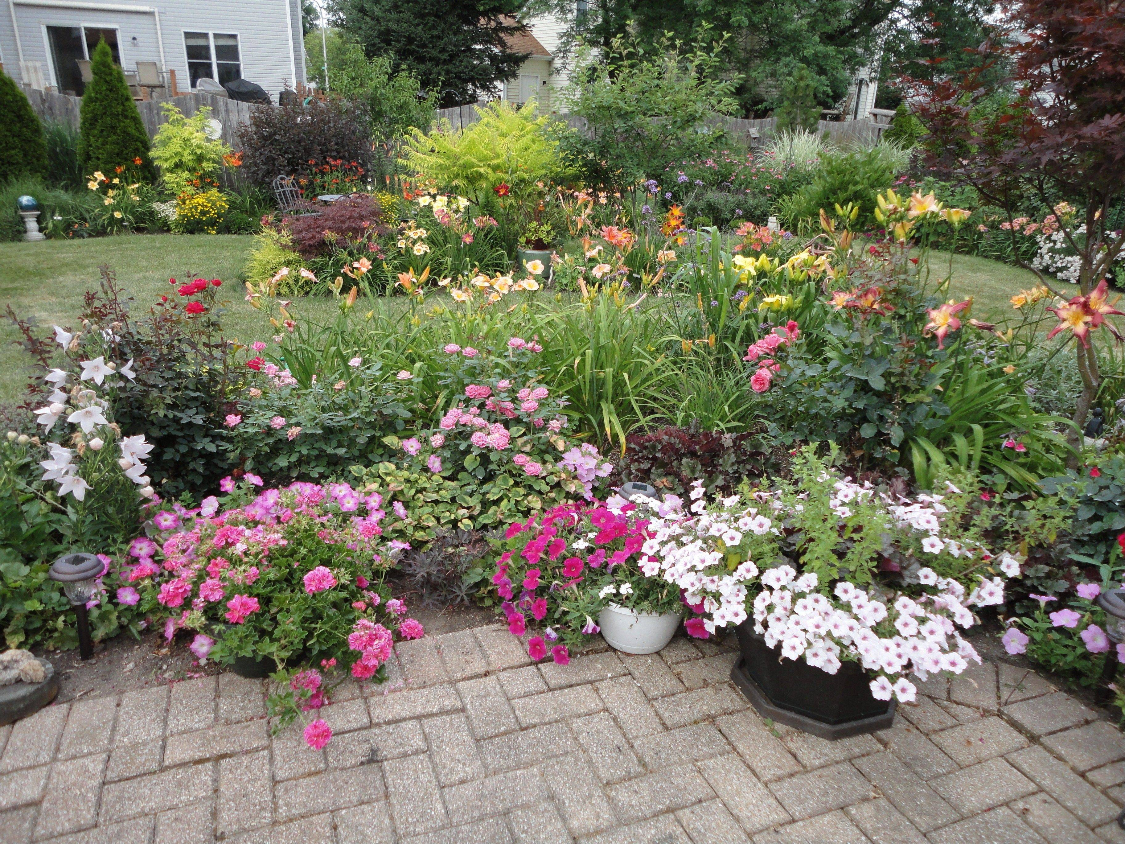 The garden of Jean Pechtel at 597 N. Lyle Ave., Elgin, will be featured at the Elgin Area American Association of University Women's garden walk, set for Saturday, June 23.