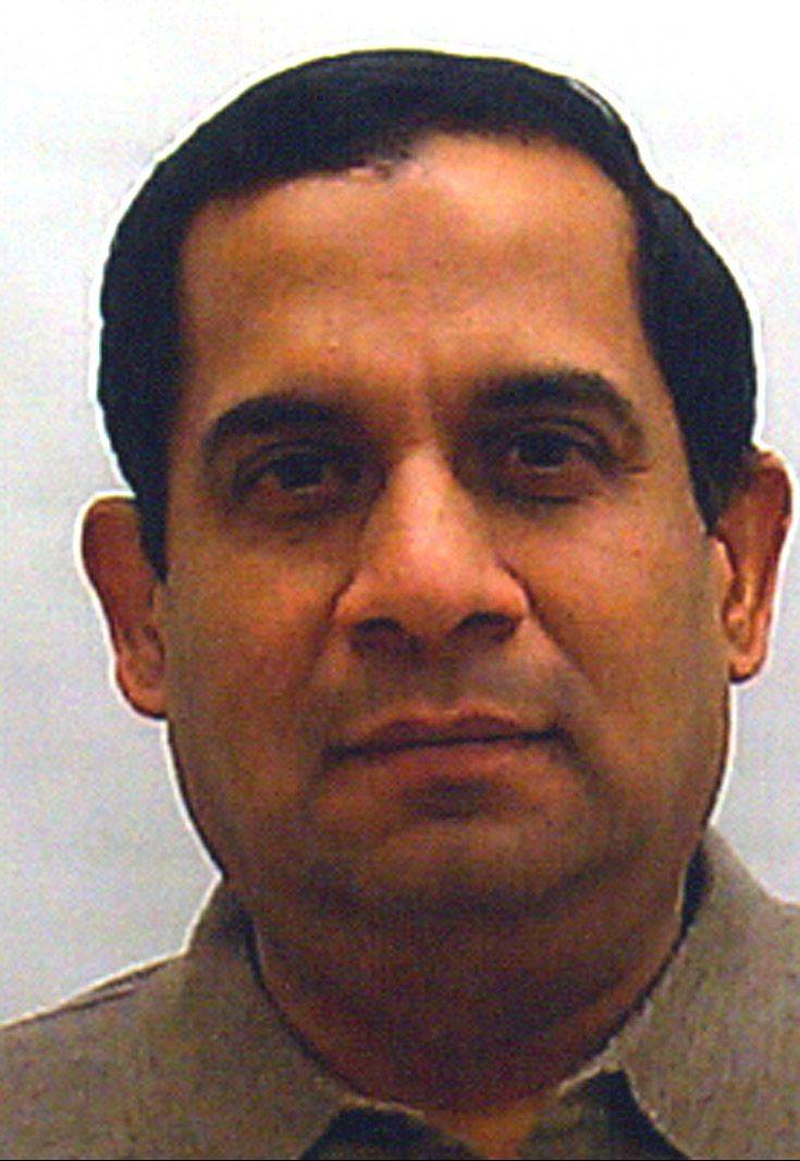 Raghuveer Nayak was arrested in Oak Brook.
