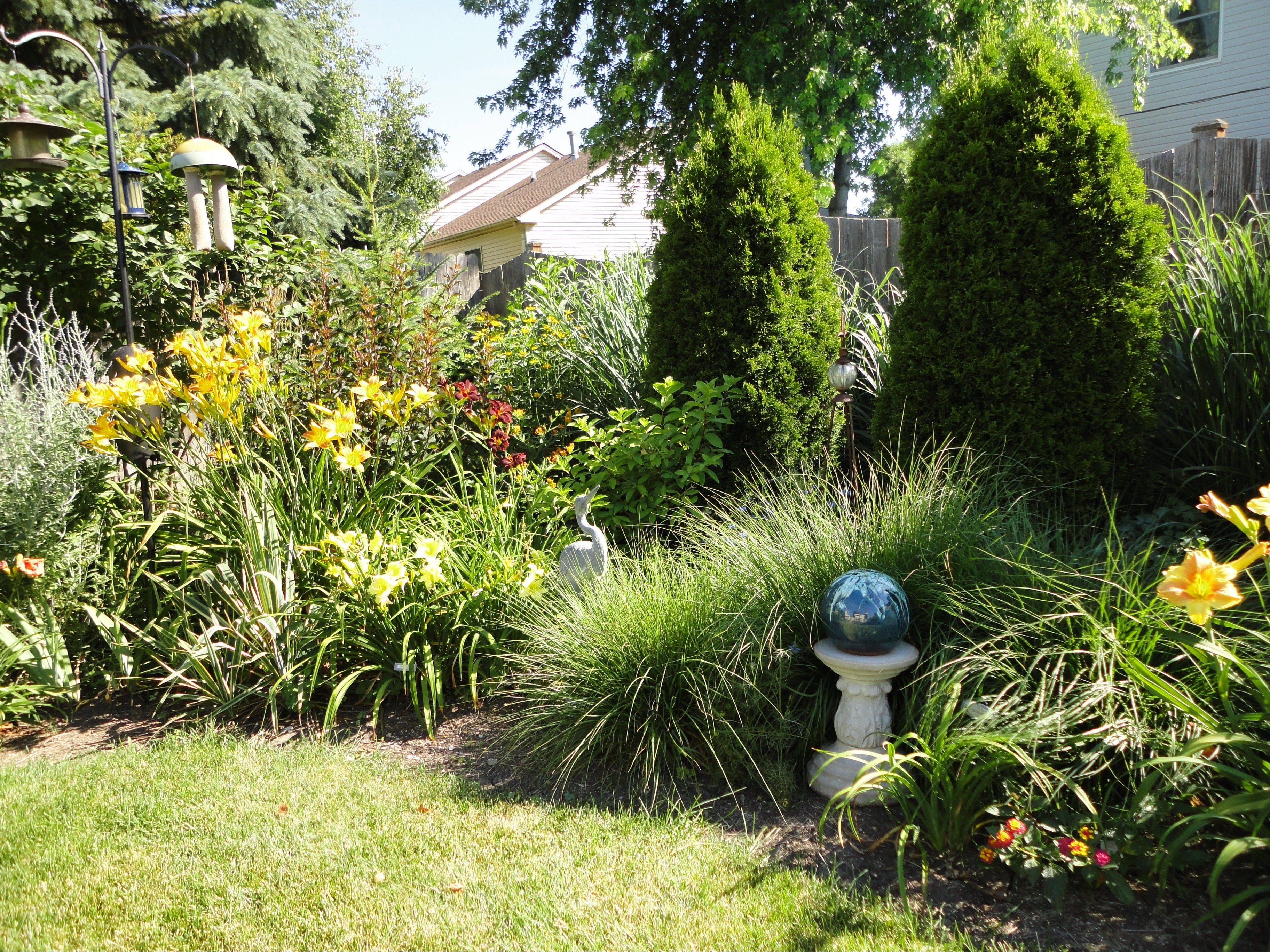 The garden of Jean Pechtel at 597 N. Lyle Ave., Elgin, will be featured in the Elgin Area American Association of University Women's garden walk, set for Saturday, June 23.