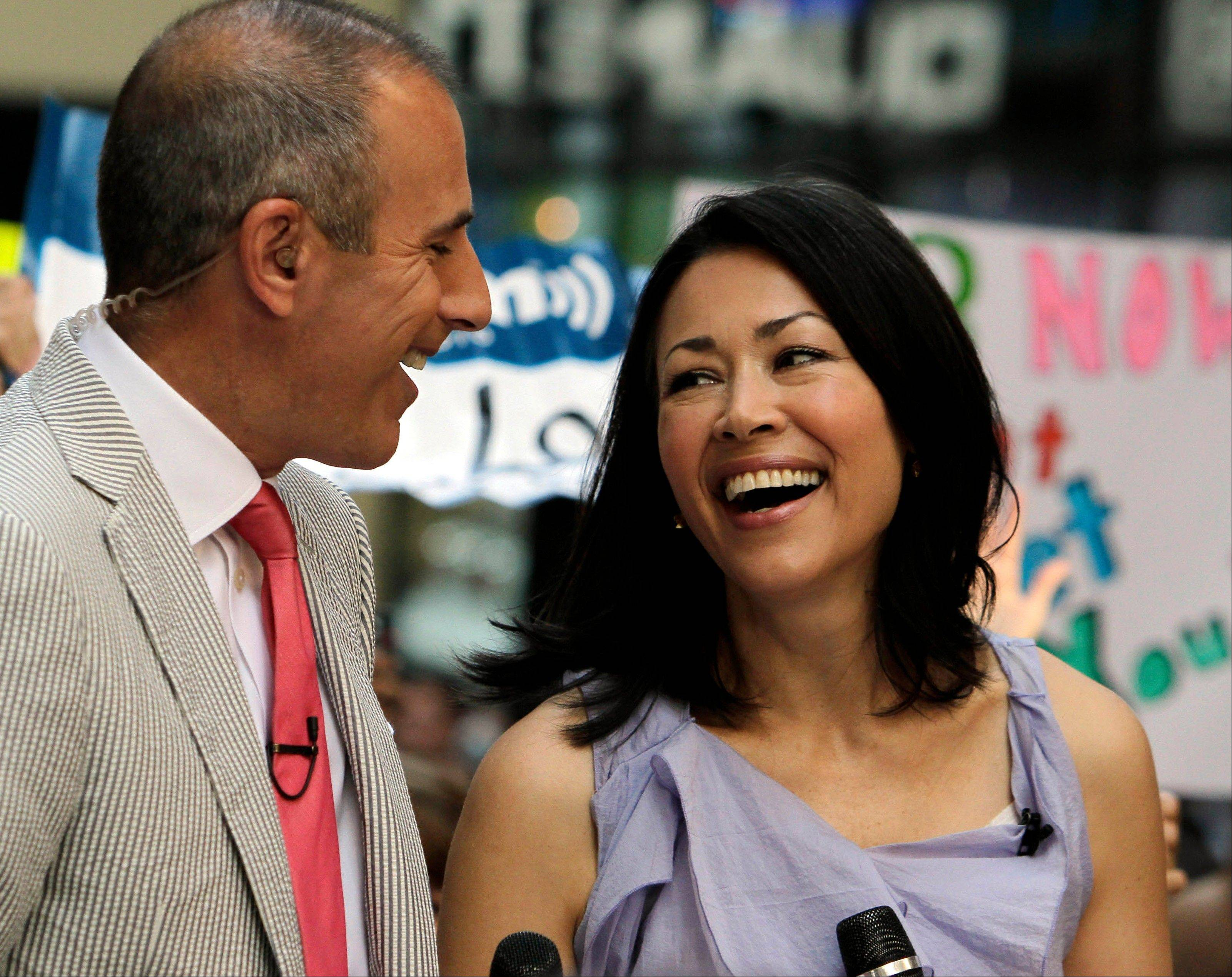 "NBC may be considering easing Ann Curry out of her co-hosting role with Matt Lauer on the ""Today"" morning show."