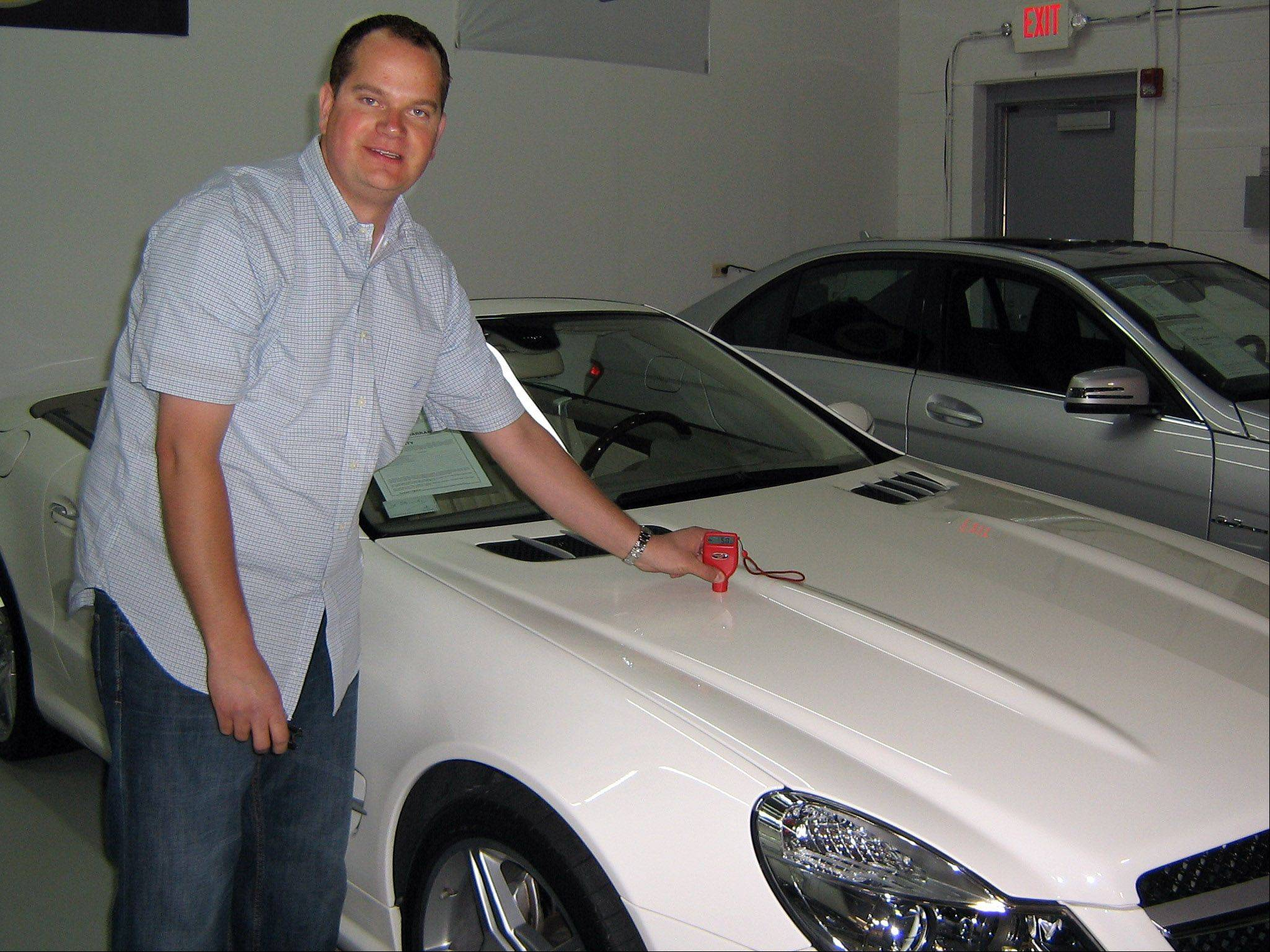Benjamin Ripstein, owner of Midwest Motors Inc., who went before the Lake Zurich planning commission Wednesday, said his business is not the typical used car lot with ribbons and banners, but an Internet operation that sells luxury cars averaging $50,000.