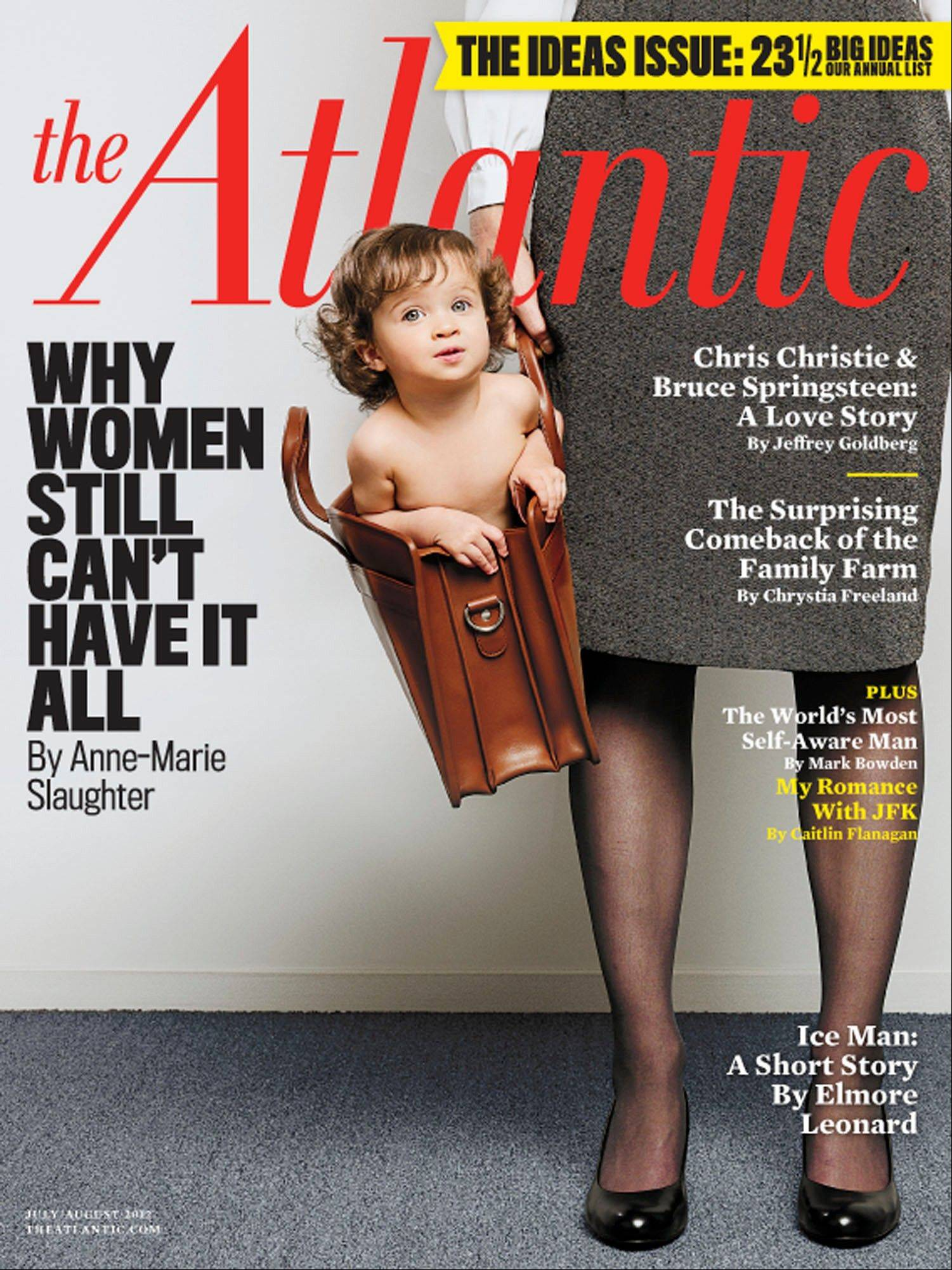 The Atlantic magazine cover from the July/August 2012 issue.