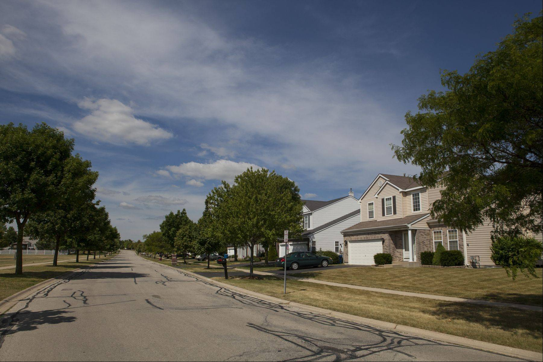 About 600 houses make up the WestRidge neighborhood, which was developed by Centex Homes in the 1990s.