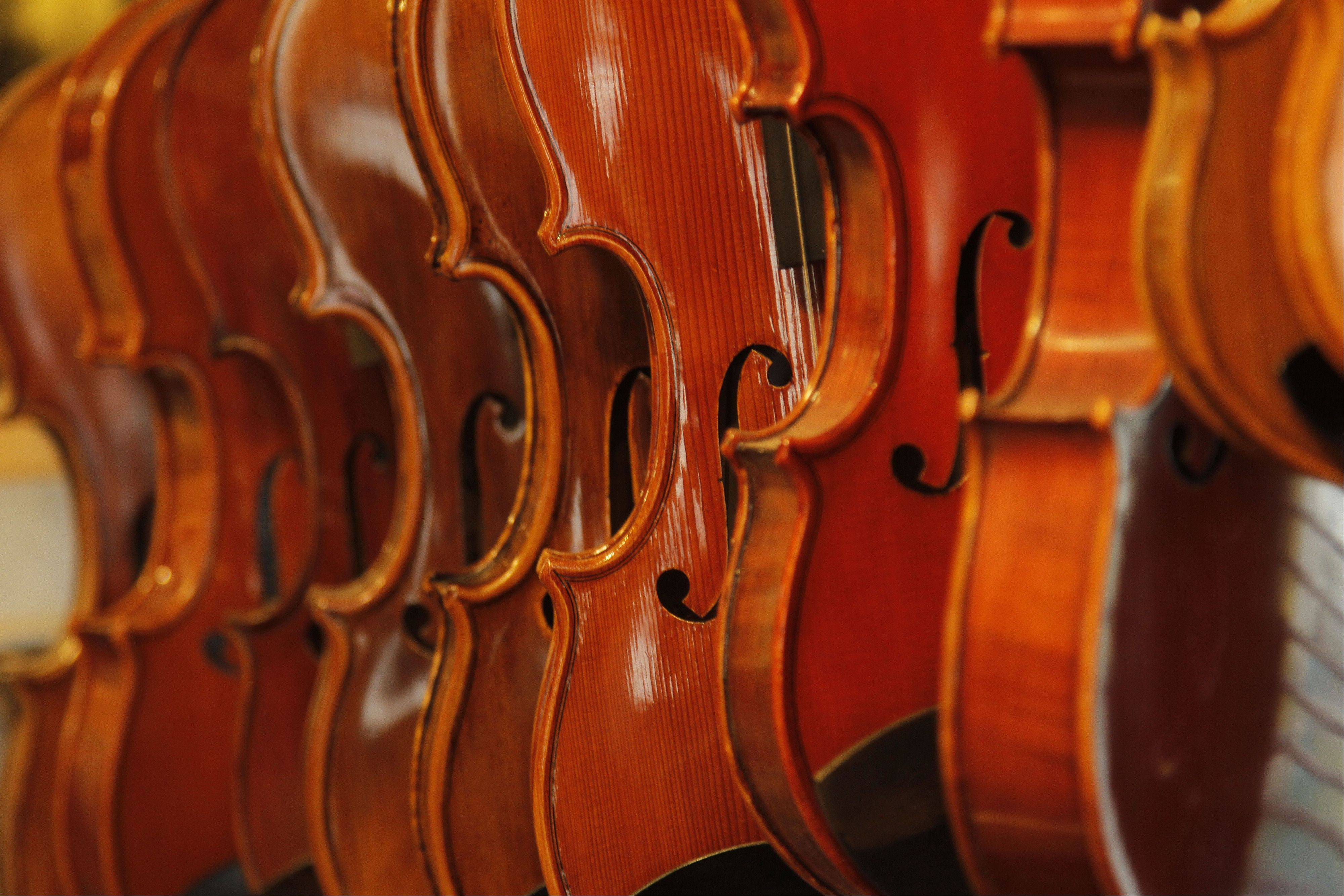 Hoffmann hopes to make two or three violins this year. While being a master craftsman, his main business remains rentals and repairs.