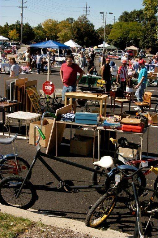 Lisle's 19th annual Trash and Treasures will feature collectibles, clothing, crafts and other yard-sale items from up to 60 vendors.