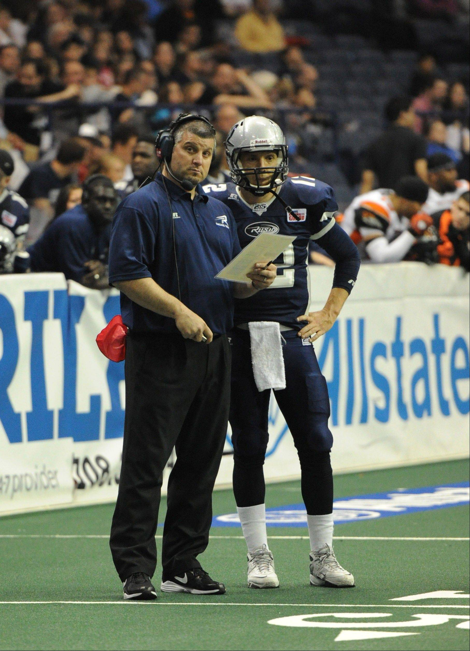 In 17 career games at Allstate Arena, Rush head coach Bob McMillen has led his AFL team to a 15-2 record.