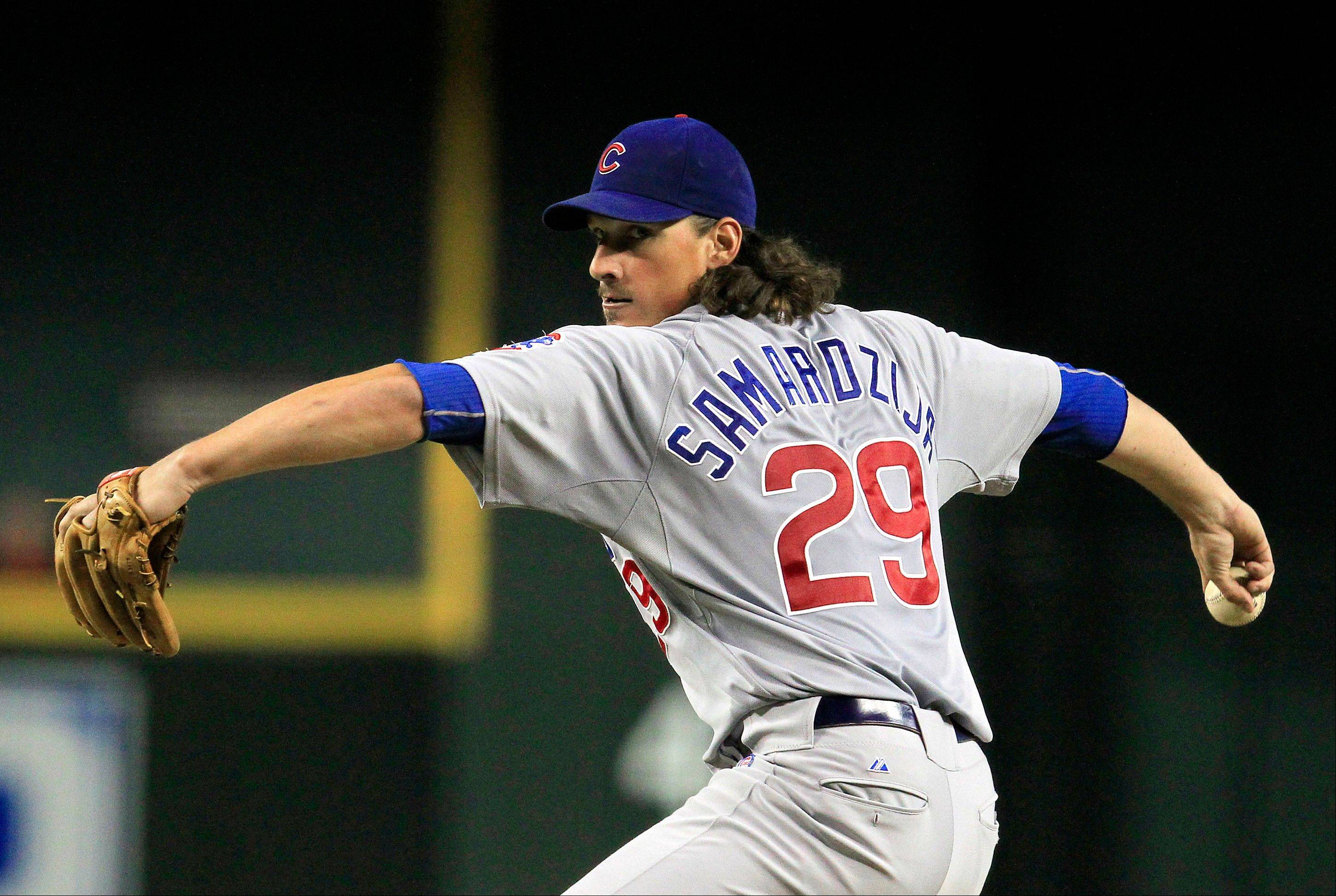 Cubs starter Jeff Samardzija didn't have his best outing. He gave up a 2-run homer to Jason Kubel in the bottom of the fourth. Miguel Montero added a 2-run triple in the sixth, making the score 5-1 and knocking out Samardzija as the Cubs fell 6-1to the Arizona Diamondbacks.
