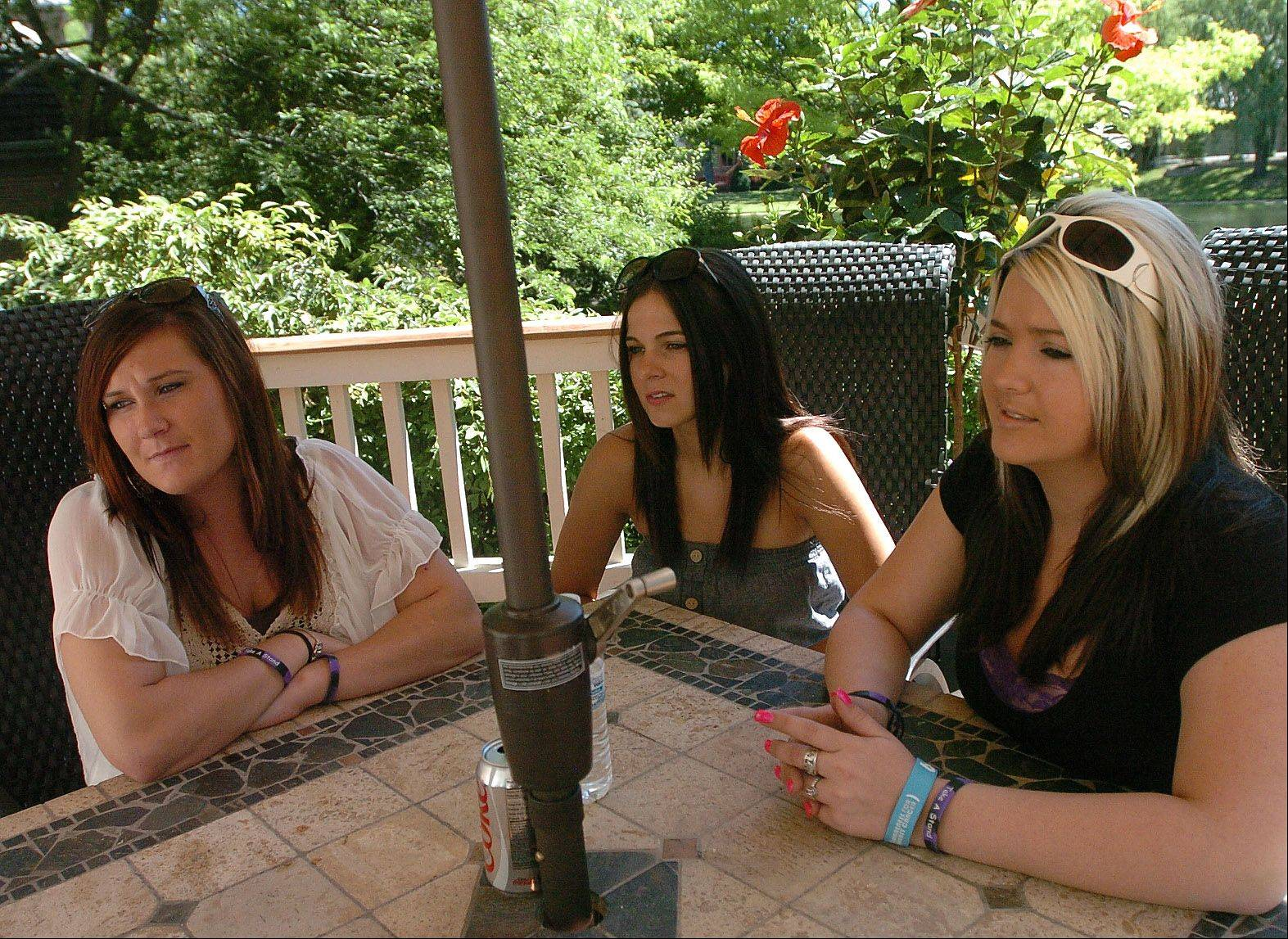 Shannon Brody, Lindsey Dulian and Heather Riley are trying to raise awareness of heroin abuse in the suburbs.
