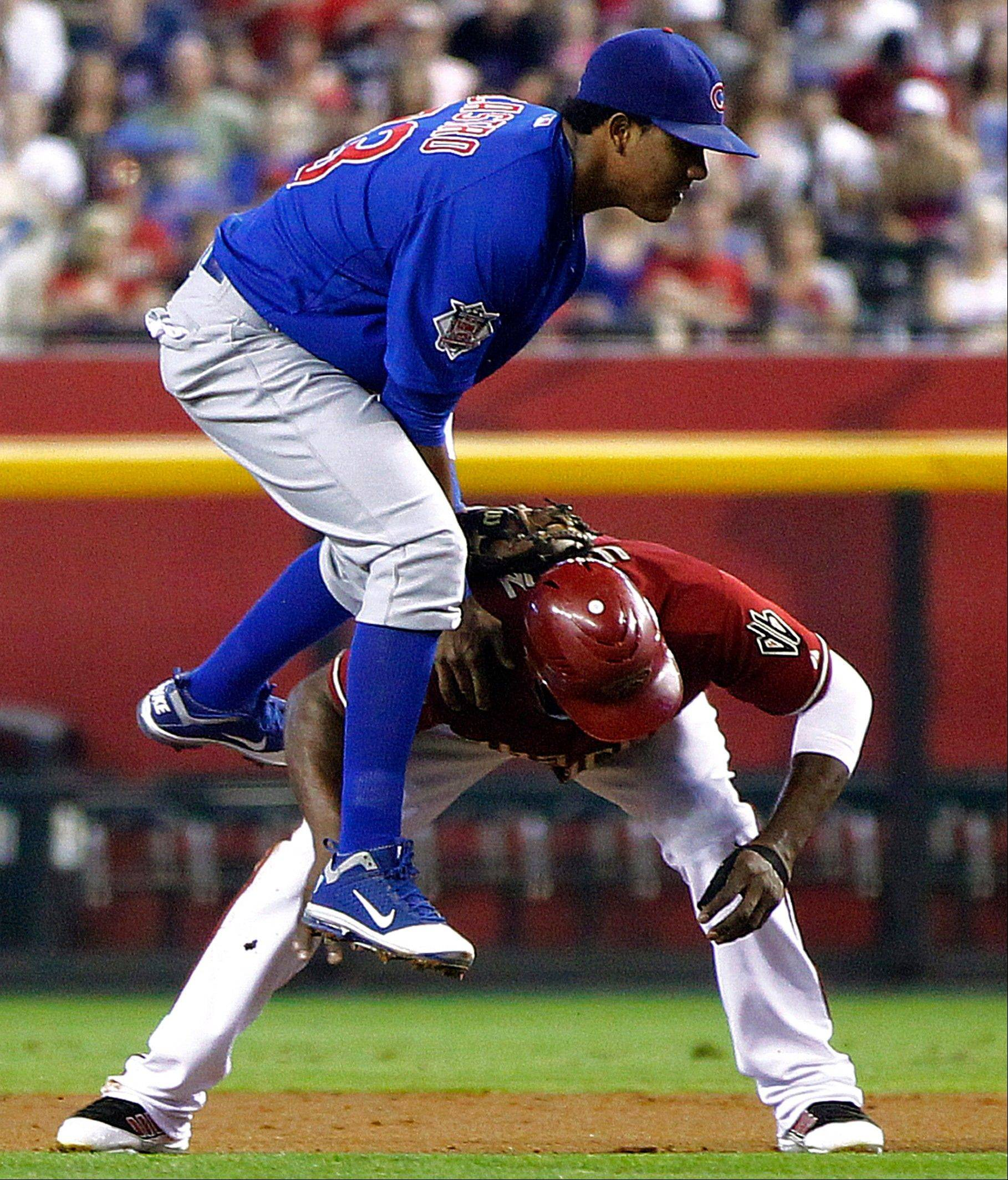 Shortstop Starlin Castro, he colliding with the Diamondbacks' Justin Upton during a rundown Sunday, is the most likely player to be representing the Cubs at the All-Star Game.