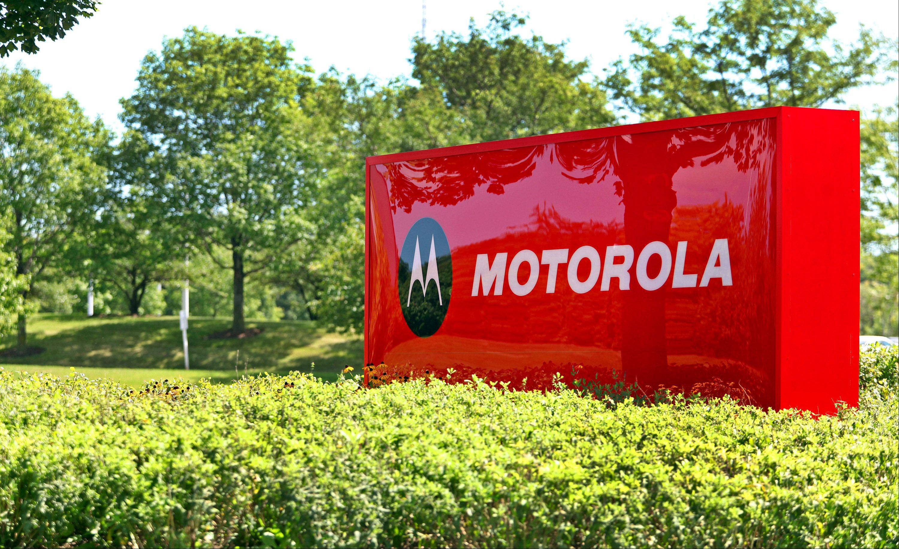 Libertyville-based, at least for now, Motorola Mobility Holdings Inc.