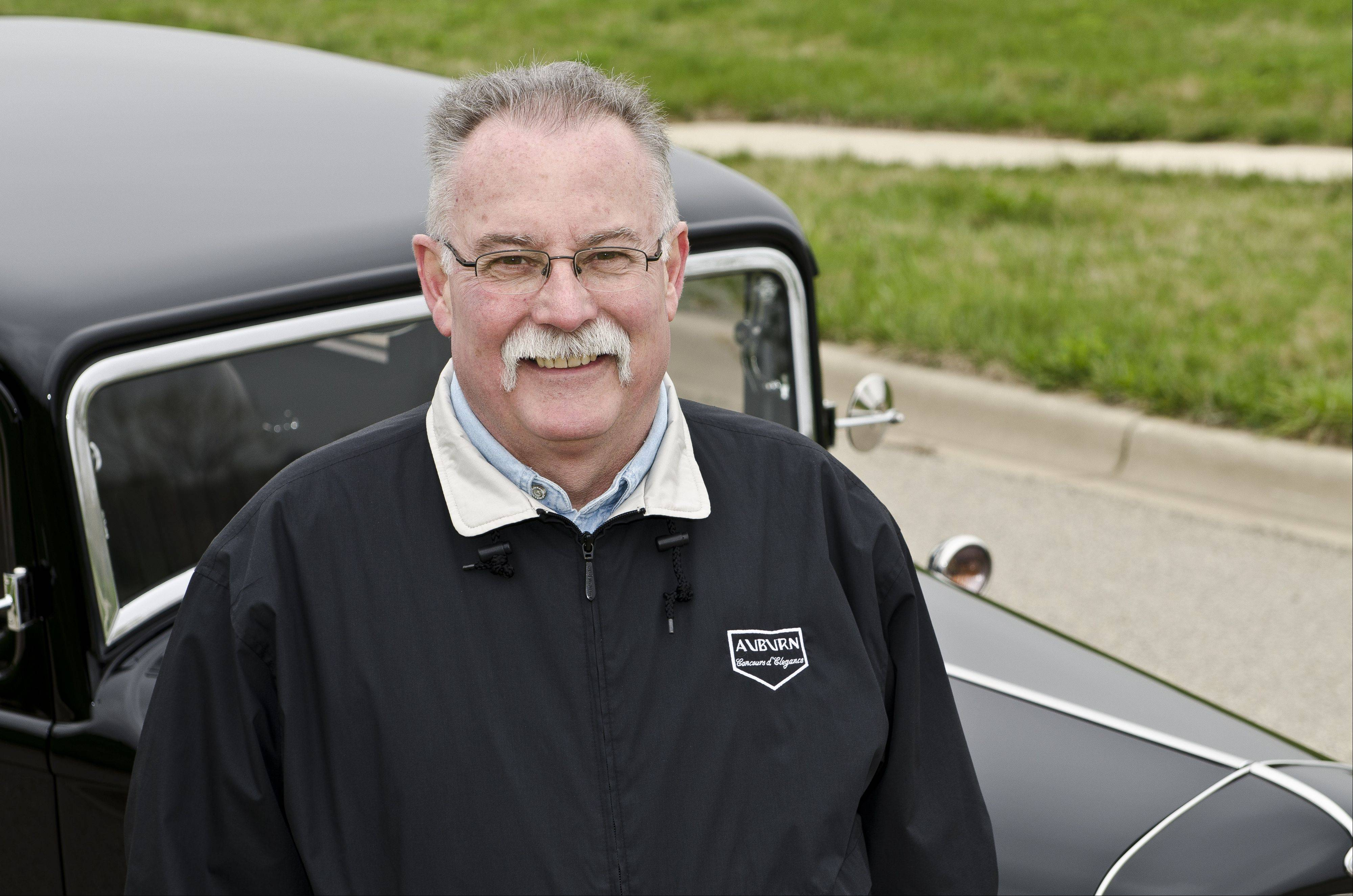 Kurt Jensen of Johnsburg has rebuilt his Ford not once, but twice.