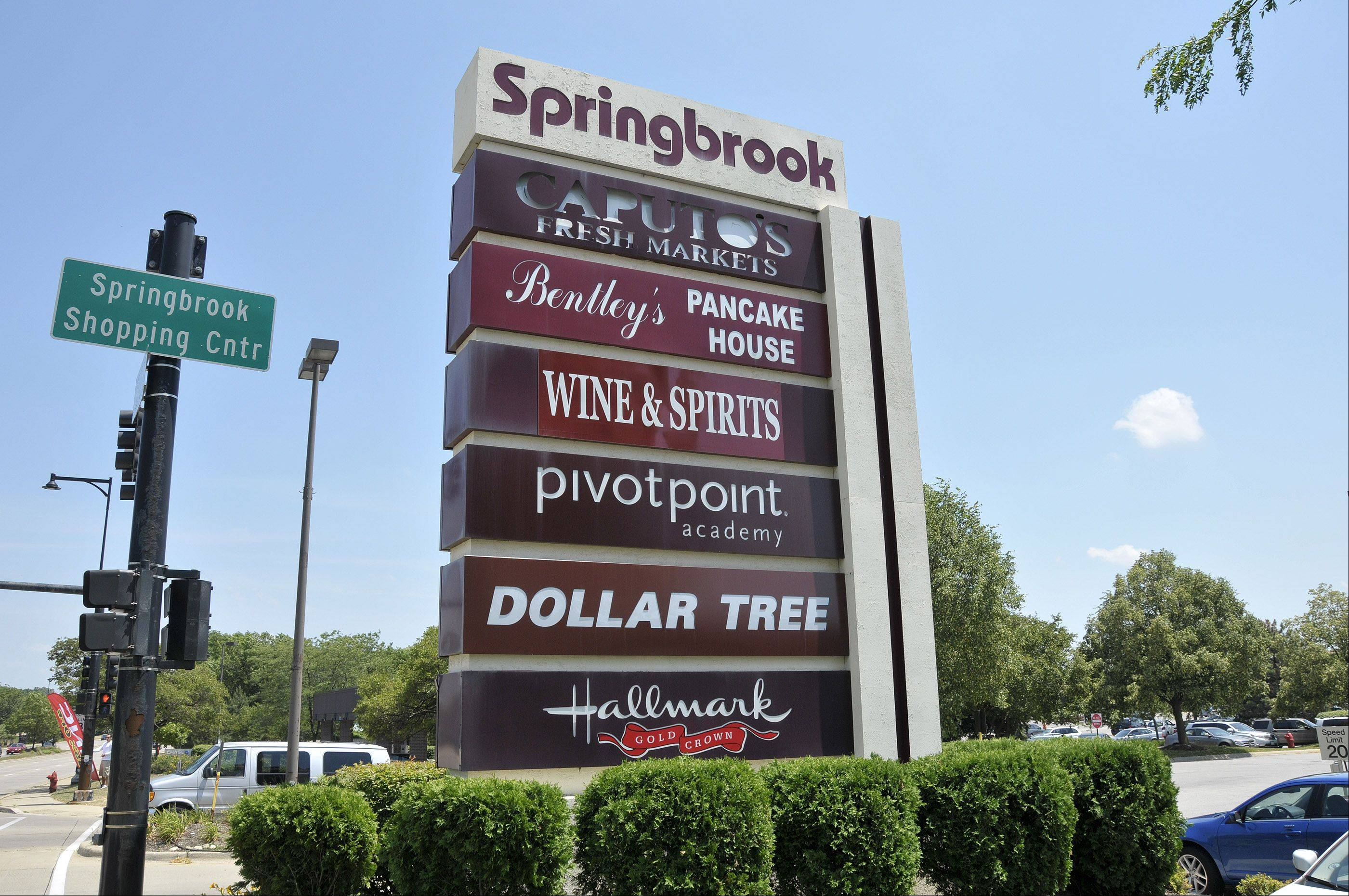 Bloomingdale officials are considering a $4.7 million plan to revitalize Springbrook Shopping Center on Lake Street.