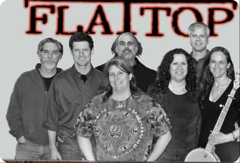 Flat Top, a classic rock band from Chicago, is one of the groups performing.