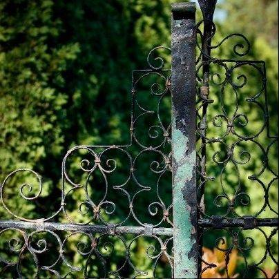 Wrought iron at Cantigny.