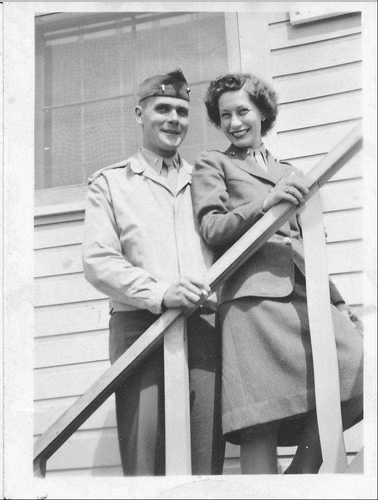 Joseph Ryan and his wife, Marie, met in the Marines and both were lieutenants in World War II. She died two years before he took his Honor Flight Chicago trip, but he carried her photo with him to Washington, D.C.