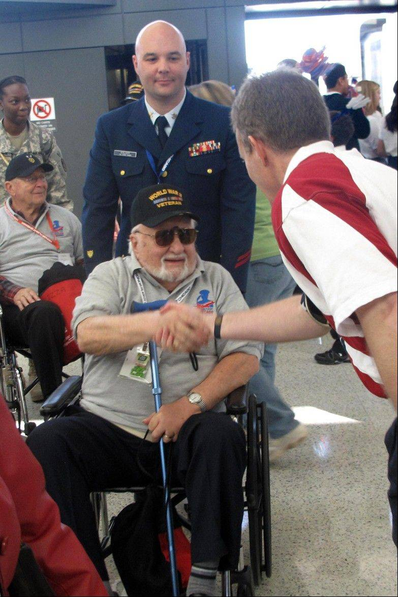 Edward Hausknecht Jr. says his Honor Flight Chicago trip to Washington, D.C., was one of the best days of his life.