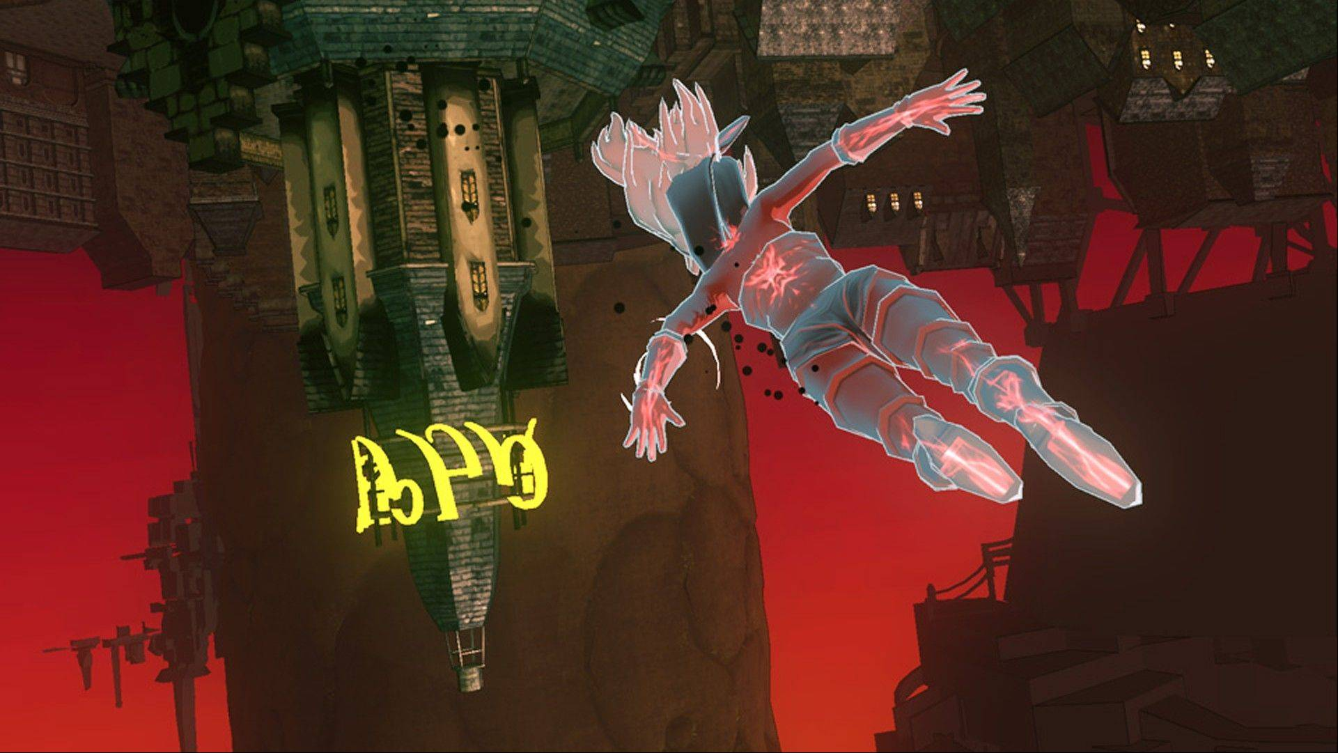 Fall under the spell of 'Gravity Rush'