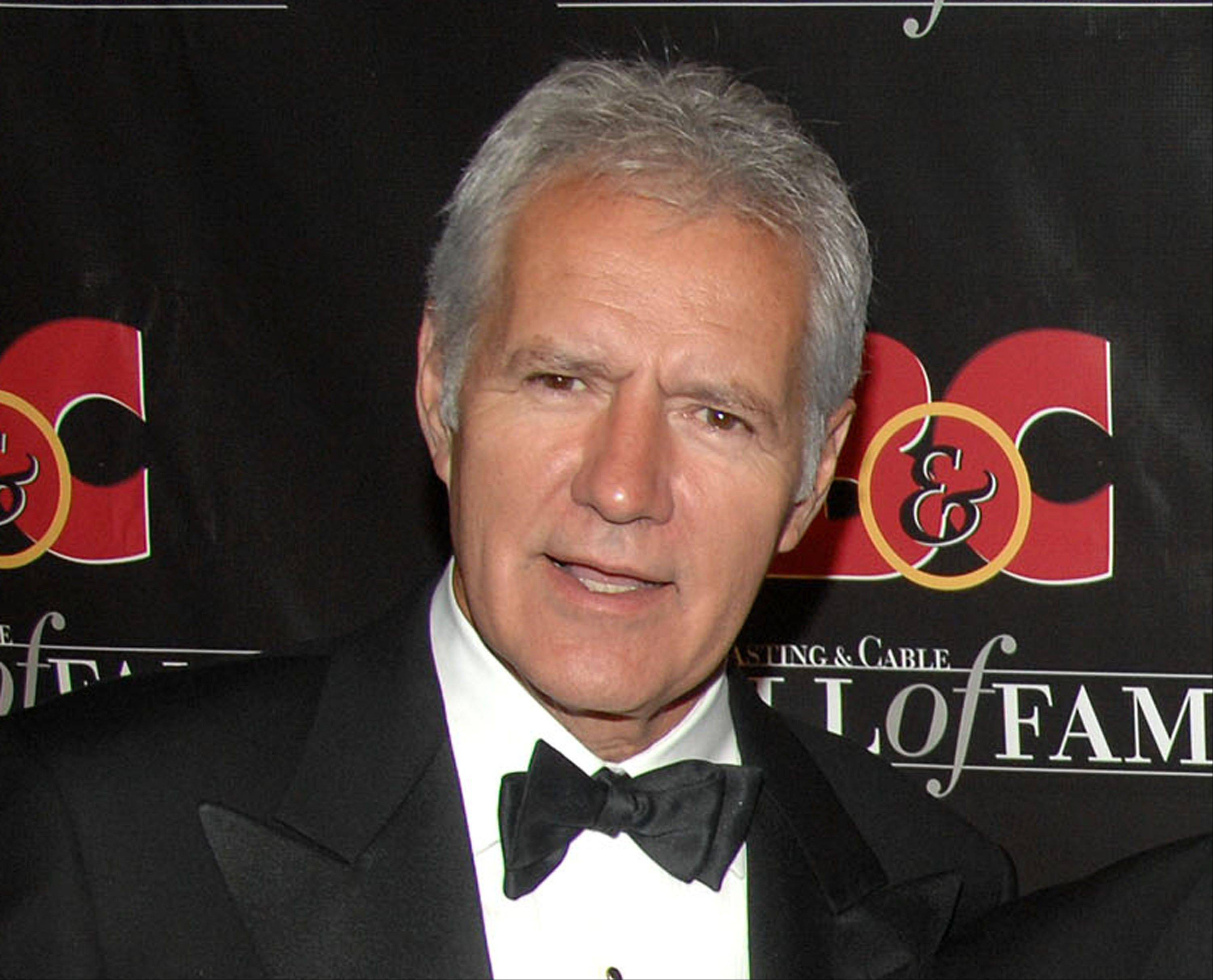 """Jeopardy"" host Alex Trebek remains in a Los Angeles hospital recovering from a mild heart attack."